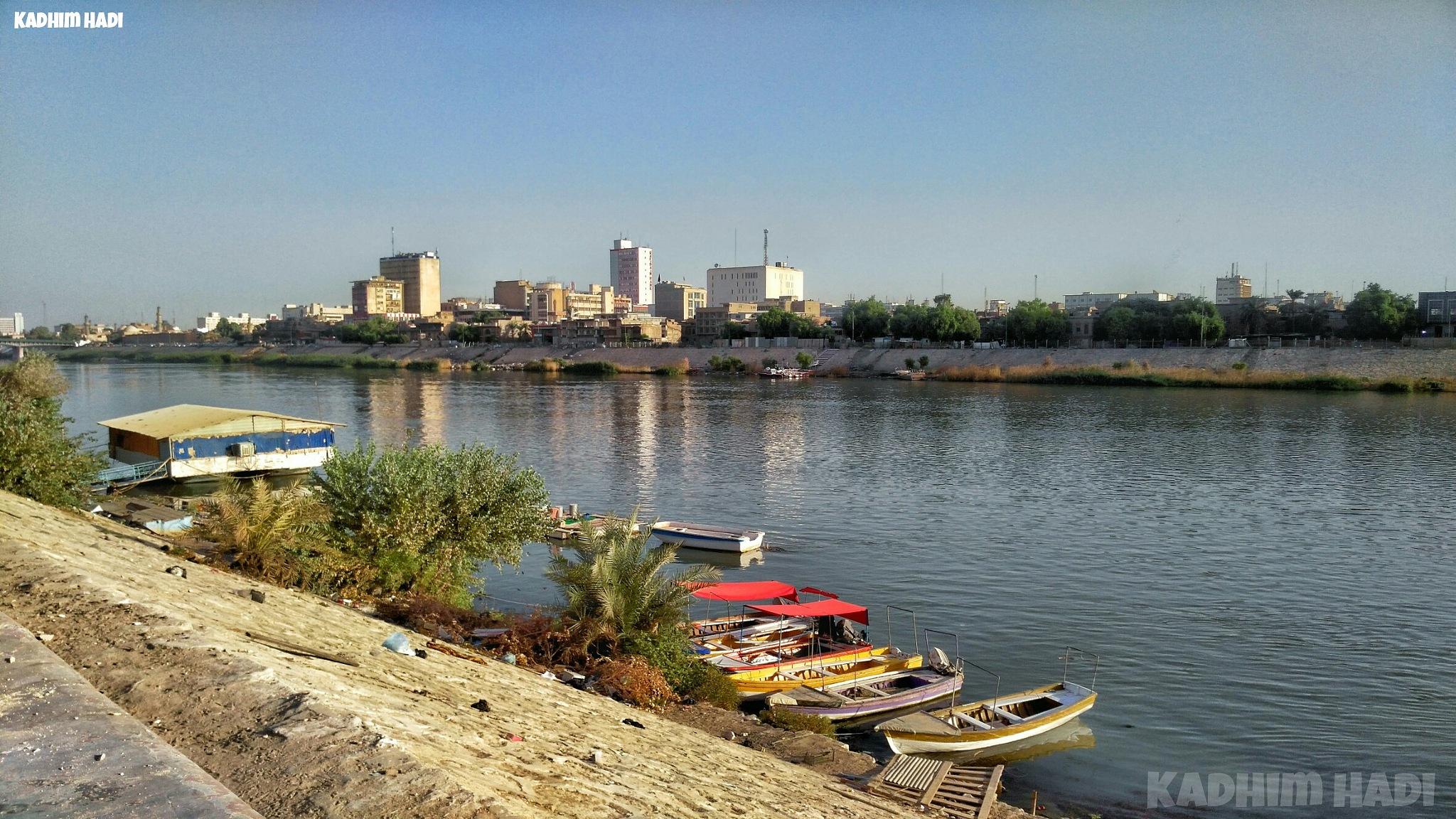 Baghdad by Kadhim Hadi