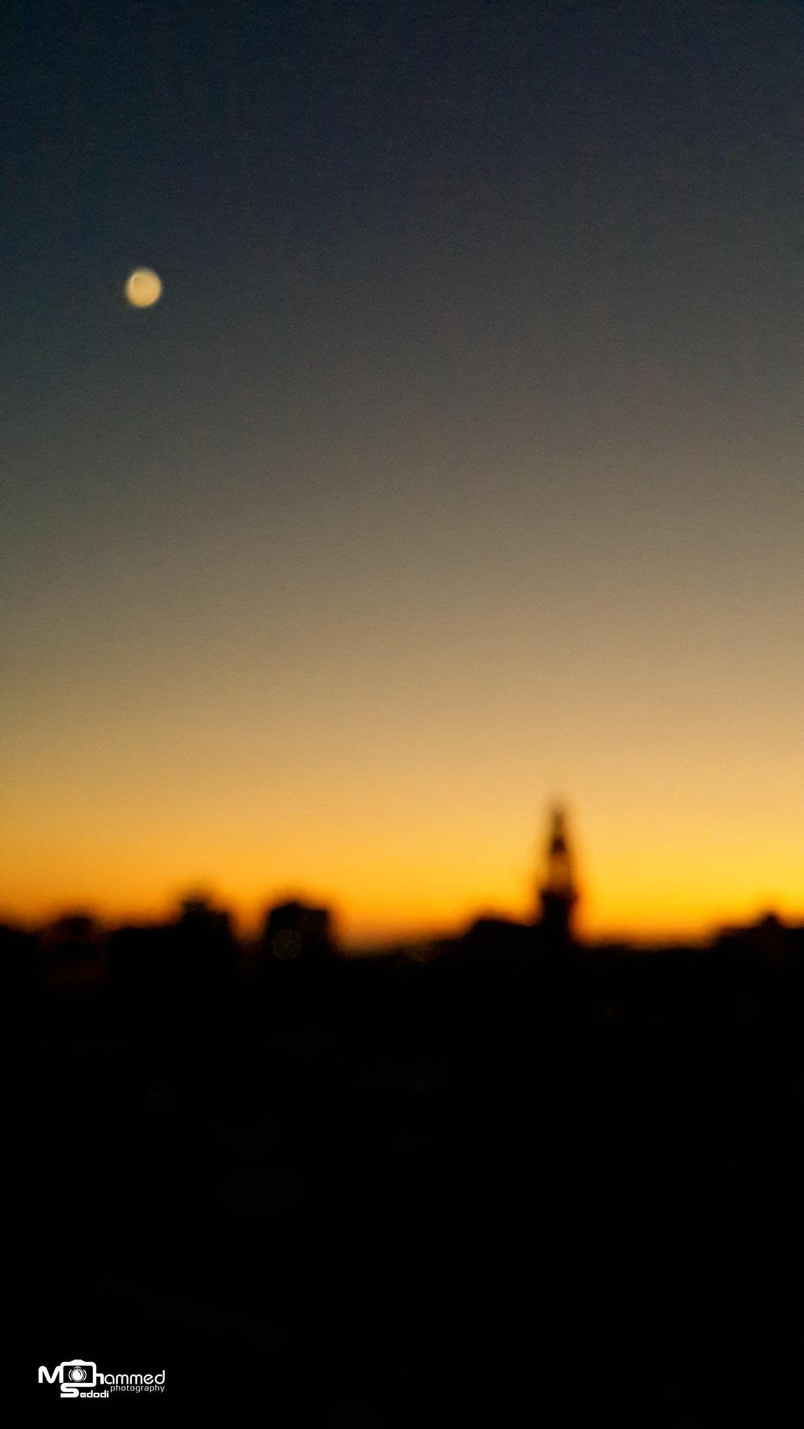 Calm sunset by Mohammed Isam Sedodi