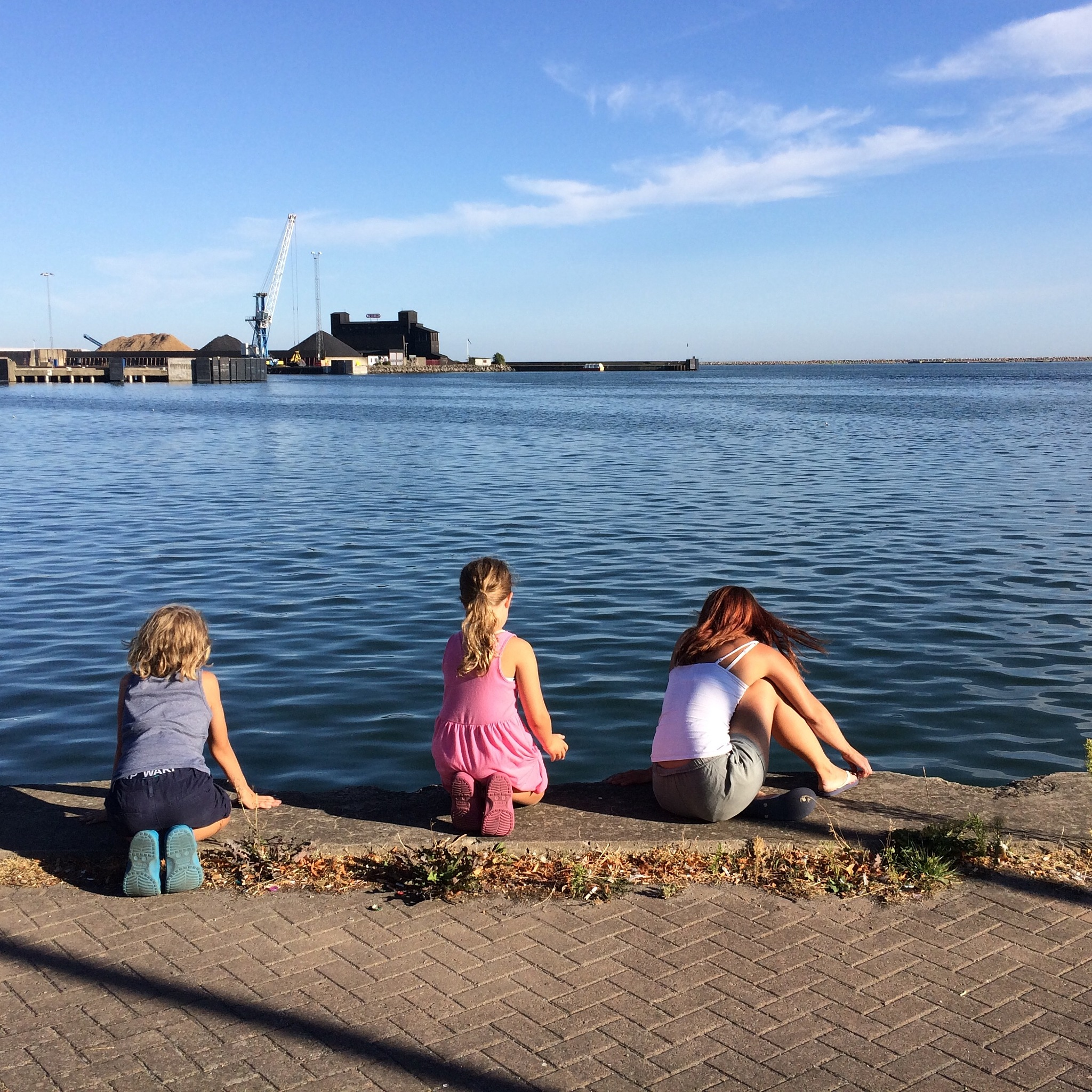 At the harbour by perwestling