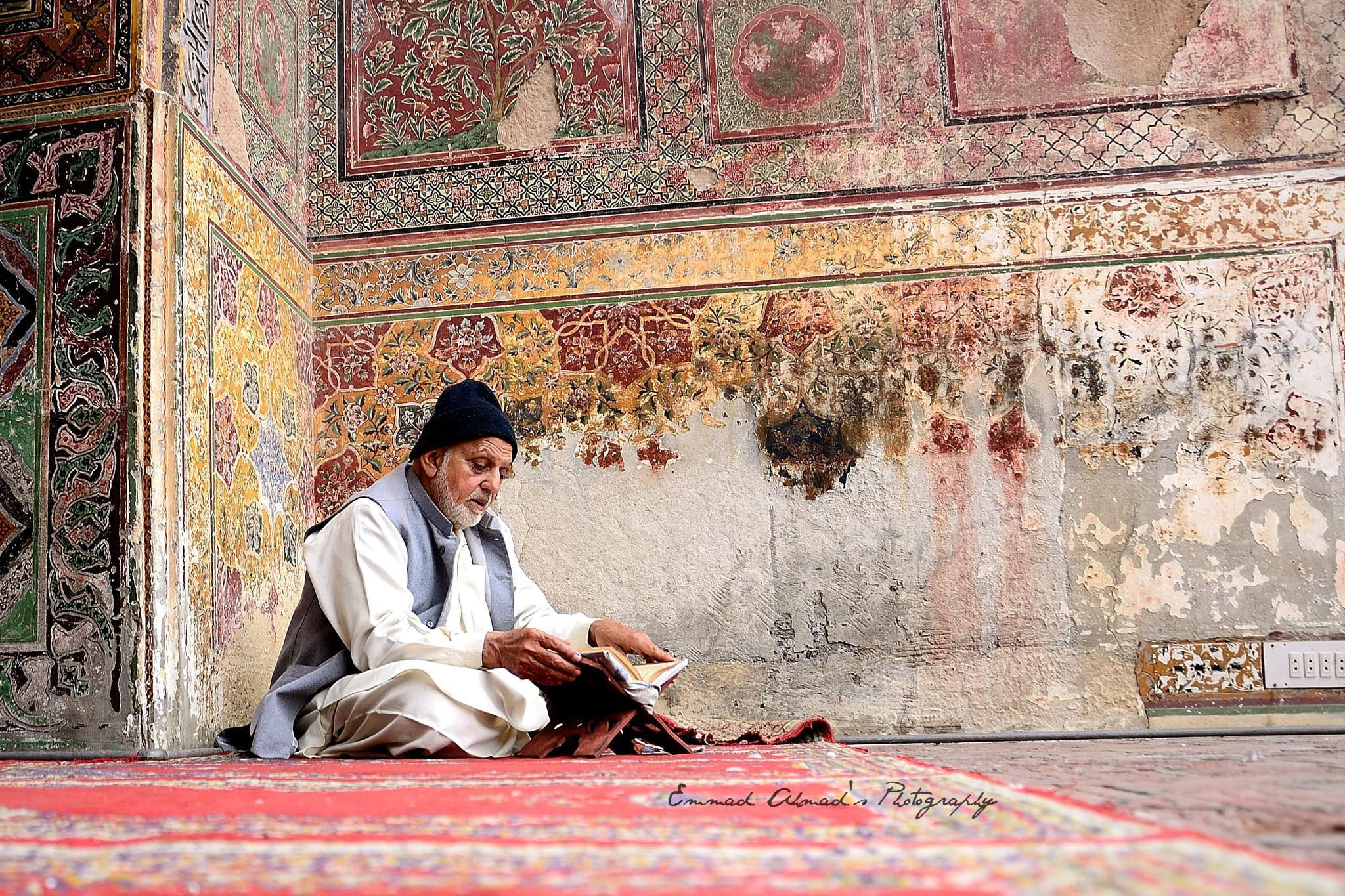History fading away by Emmad Ahmad