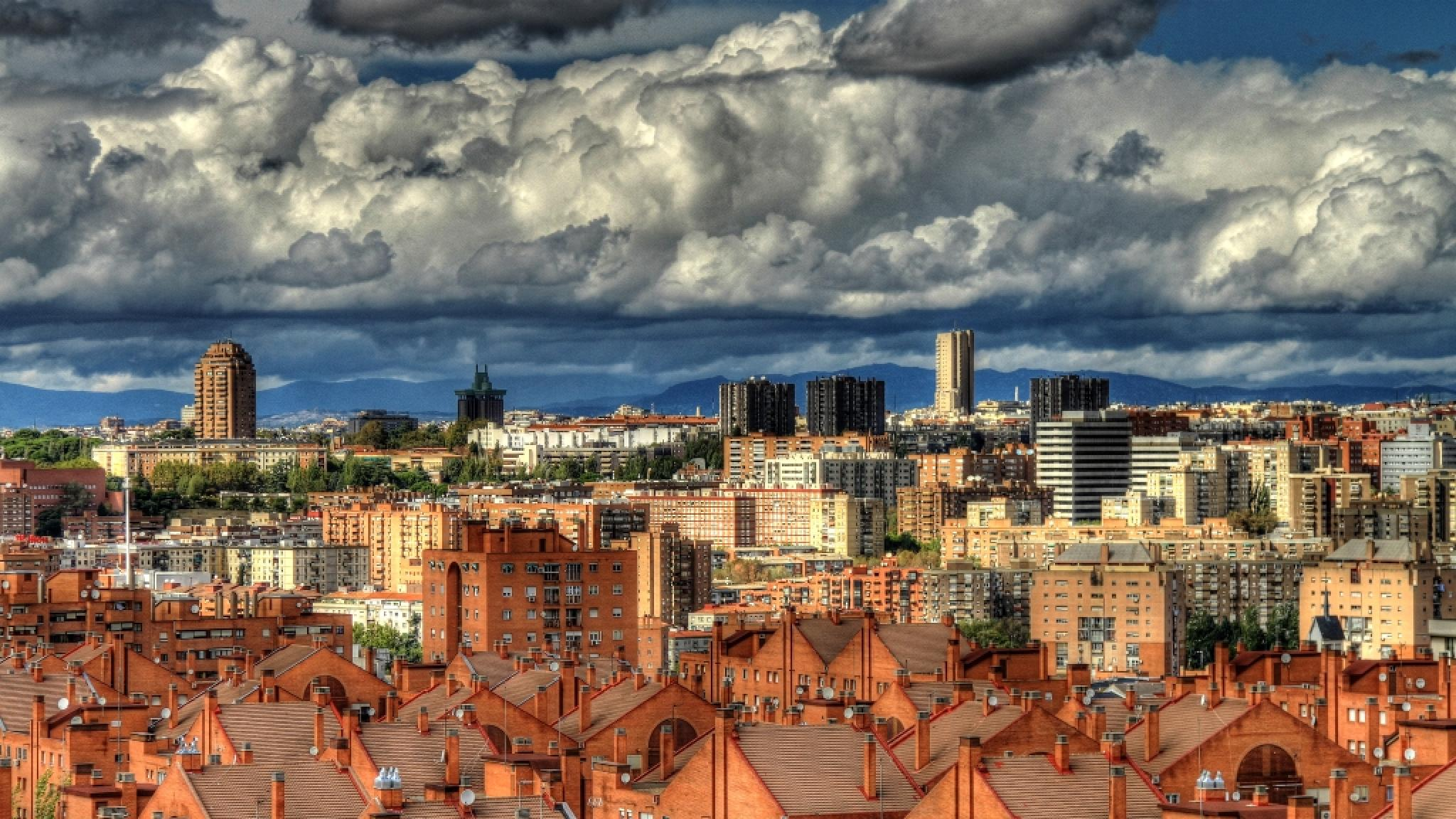 Madrid City, Spain by Peter Emmert