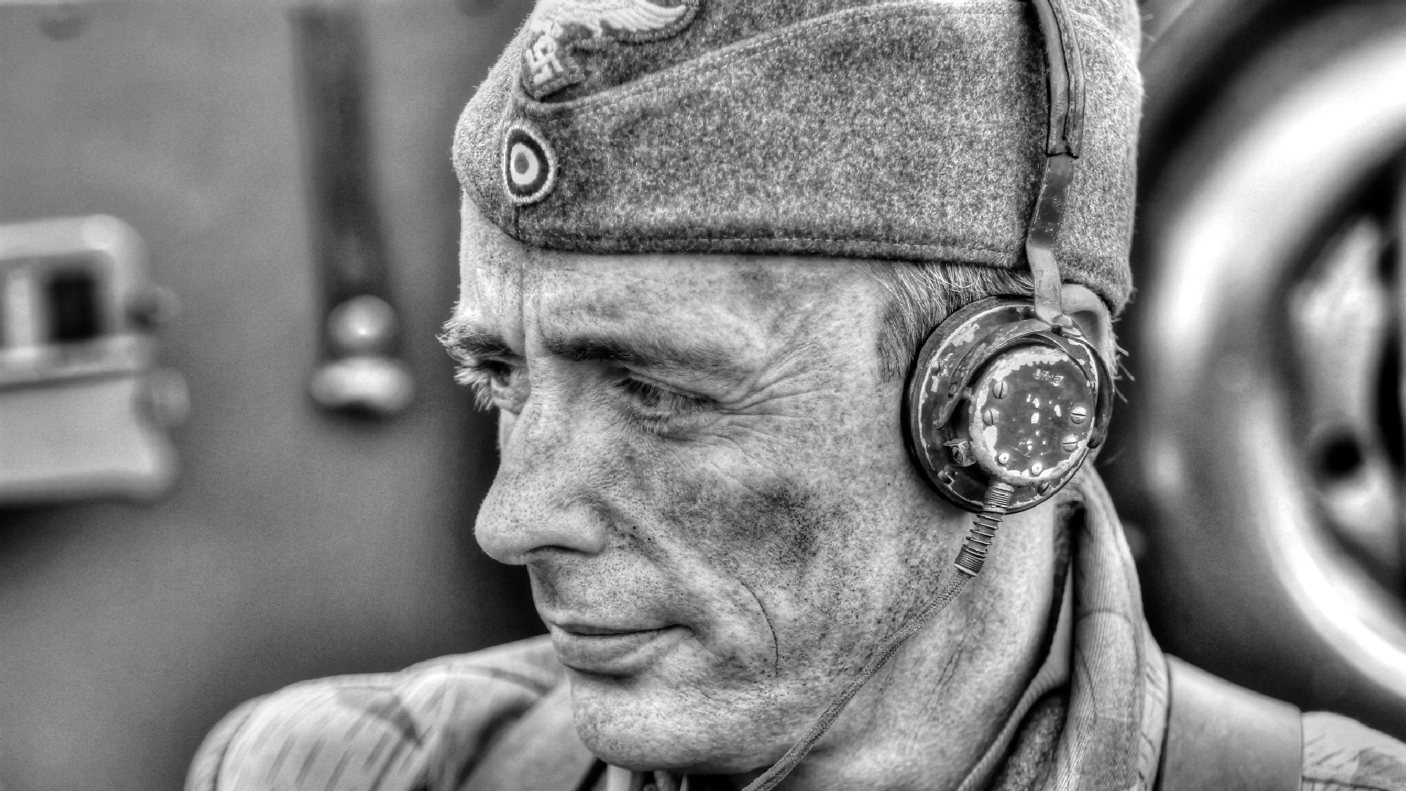 Soldiers portrais two by Peter Emmert