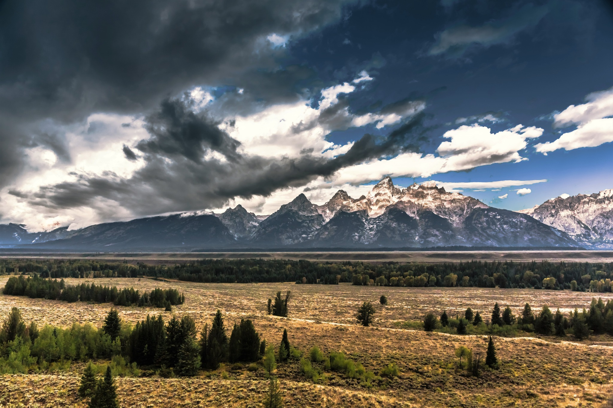 Grand Tetons by yellowstar