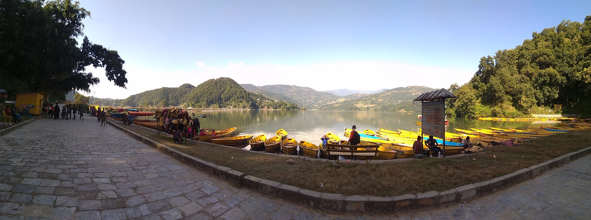 lake from pokhara by mohammad nihal akhtar