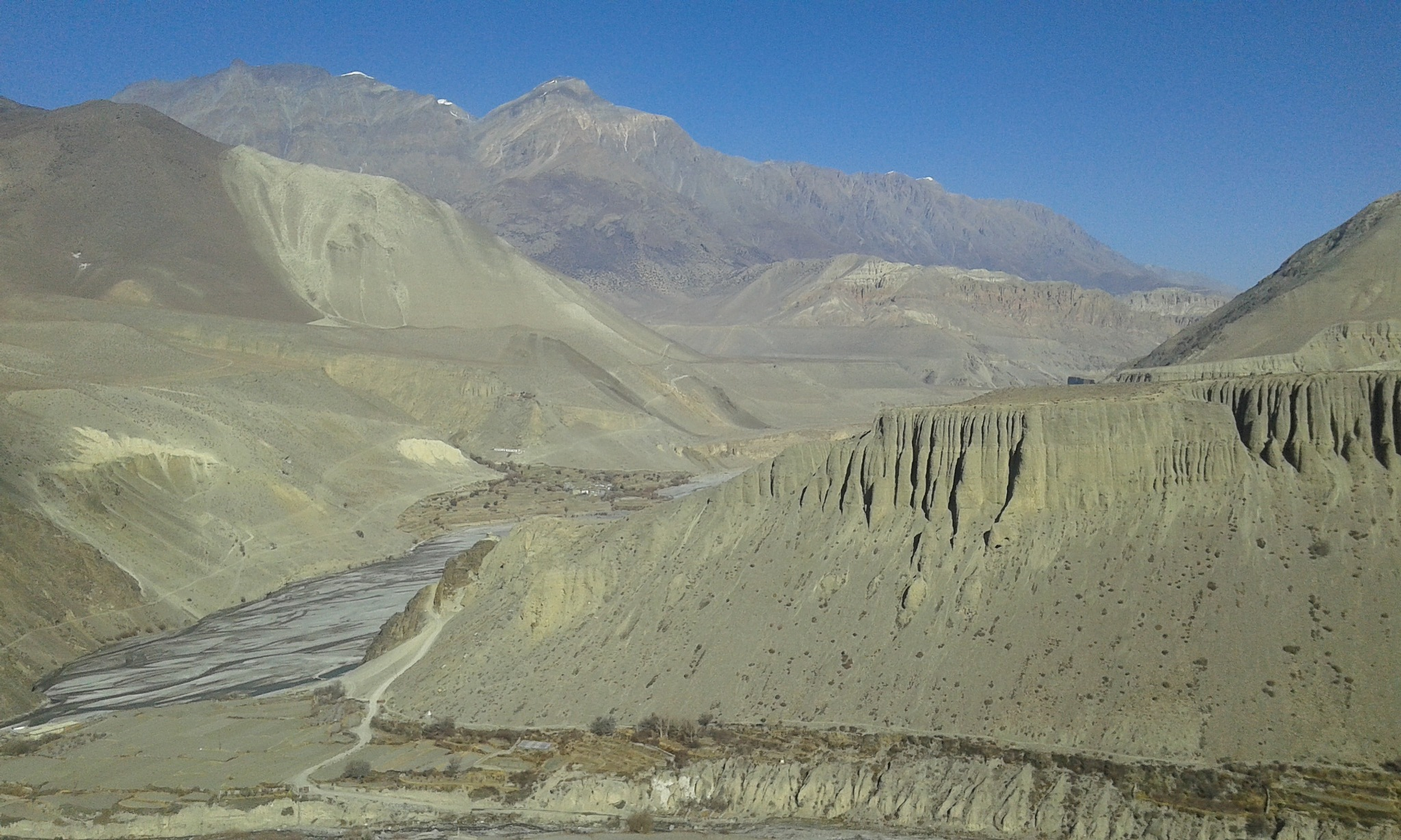 the mustang desert of nepal by mohammad nihal akhtar