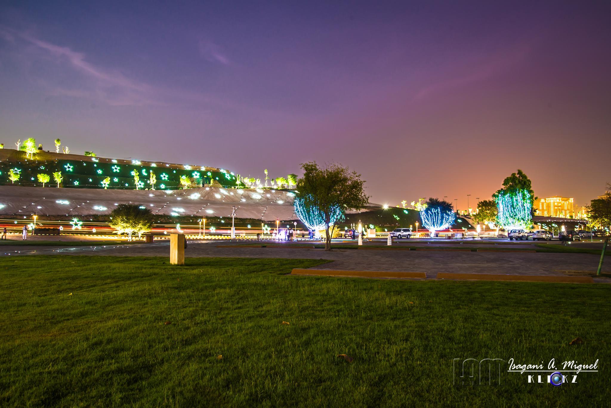Katara at night by Isagani Miguel