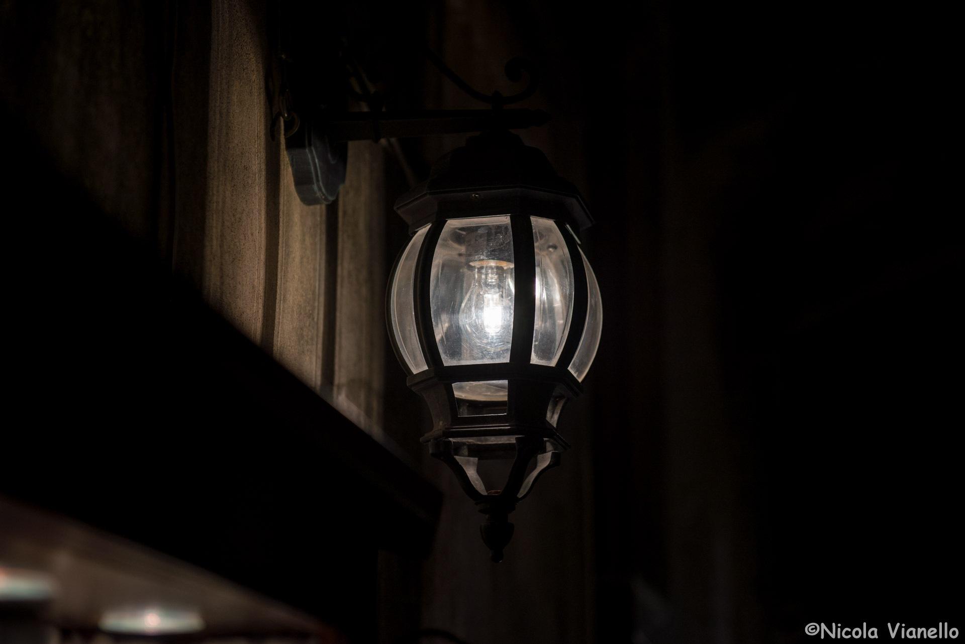 A bulblight in Korcula by Nicola Vianello