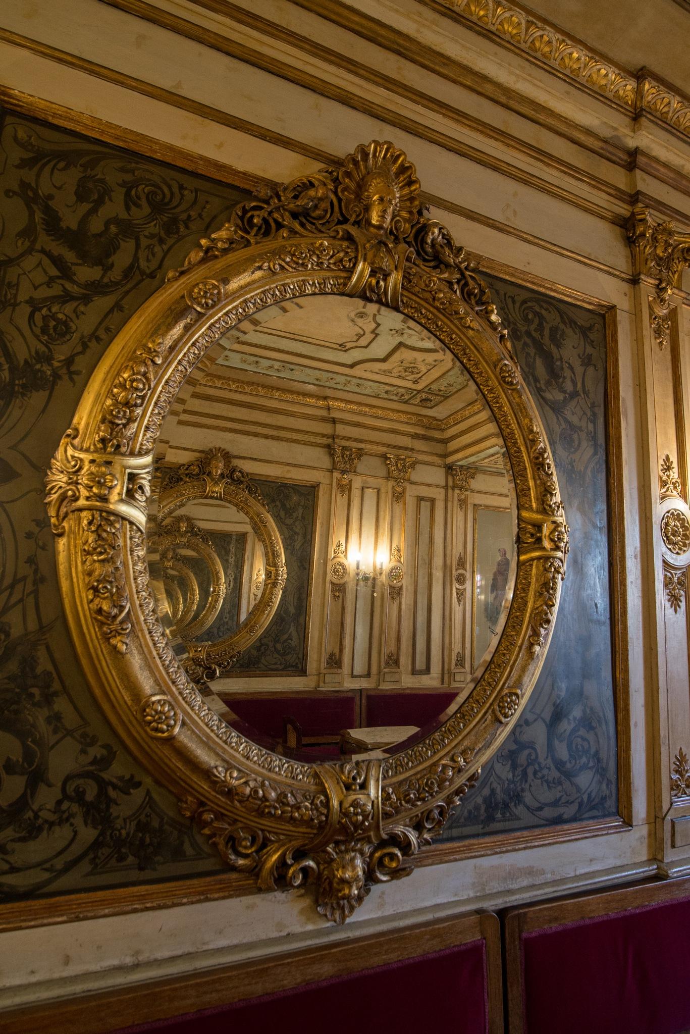 Inside the mirror by Nicola Vianello