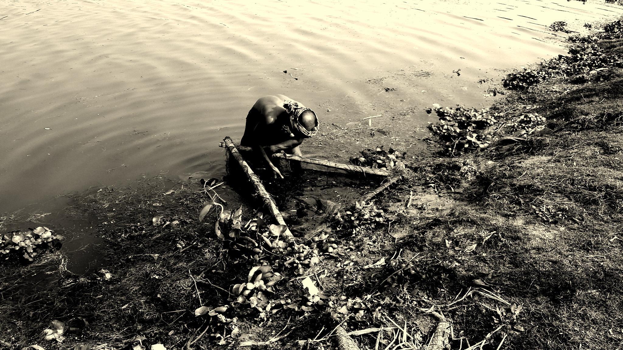 fishing by Abhishek Debnath