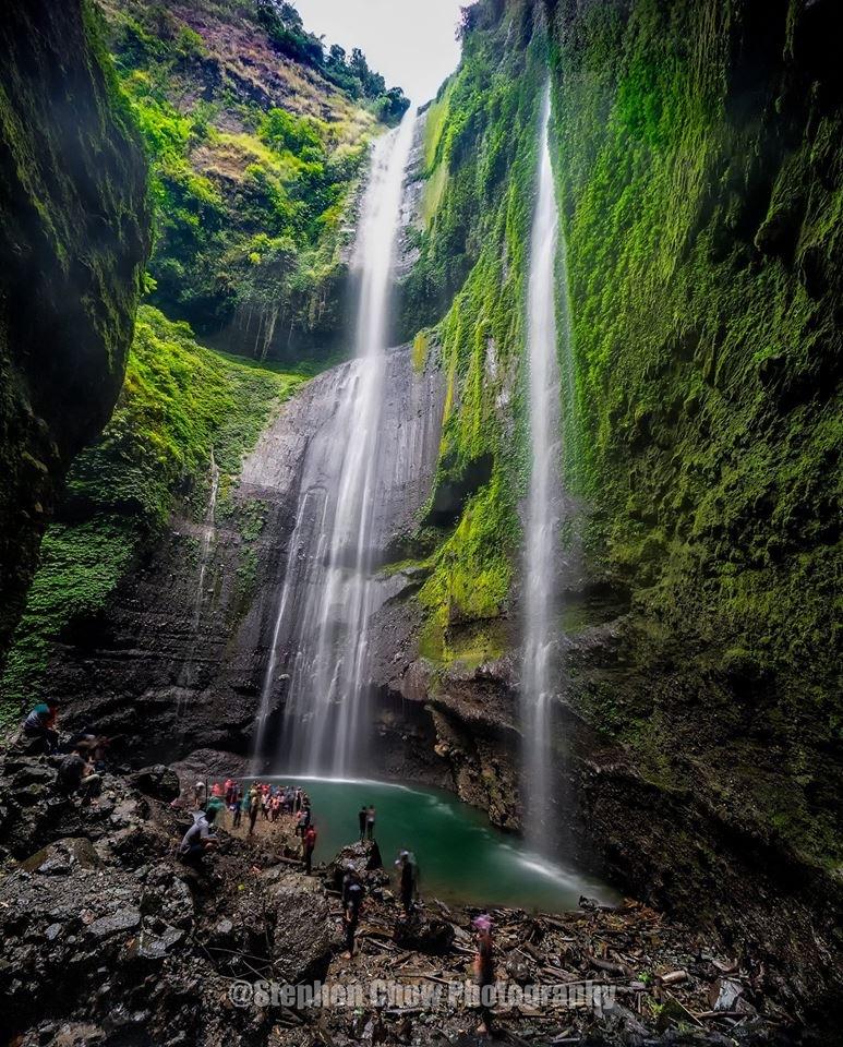Madakaripura Waterfall  by Stephen Chow