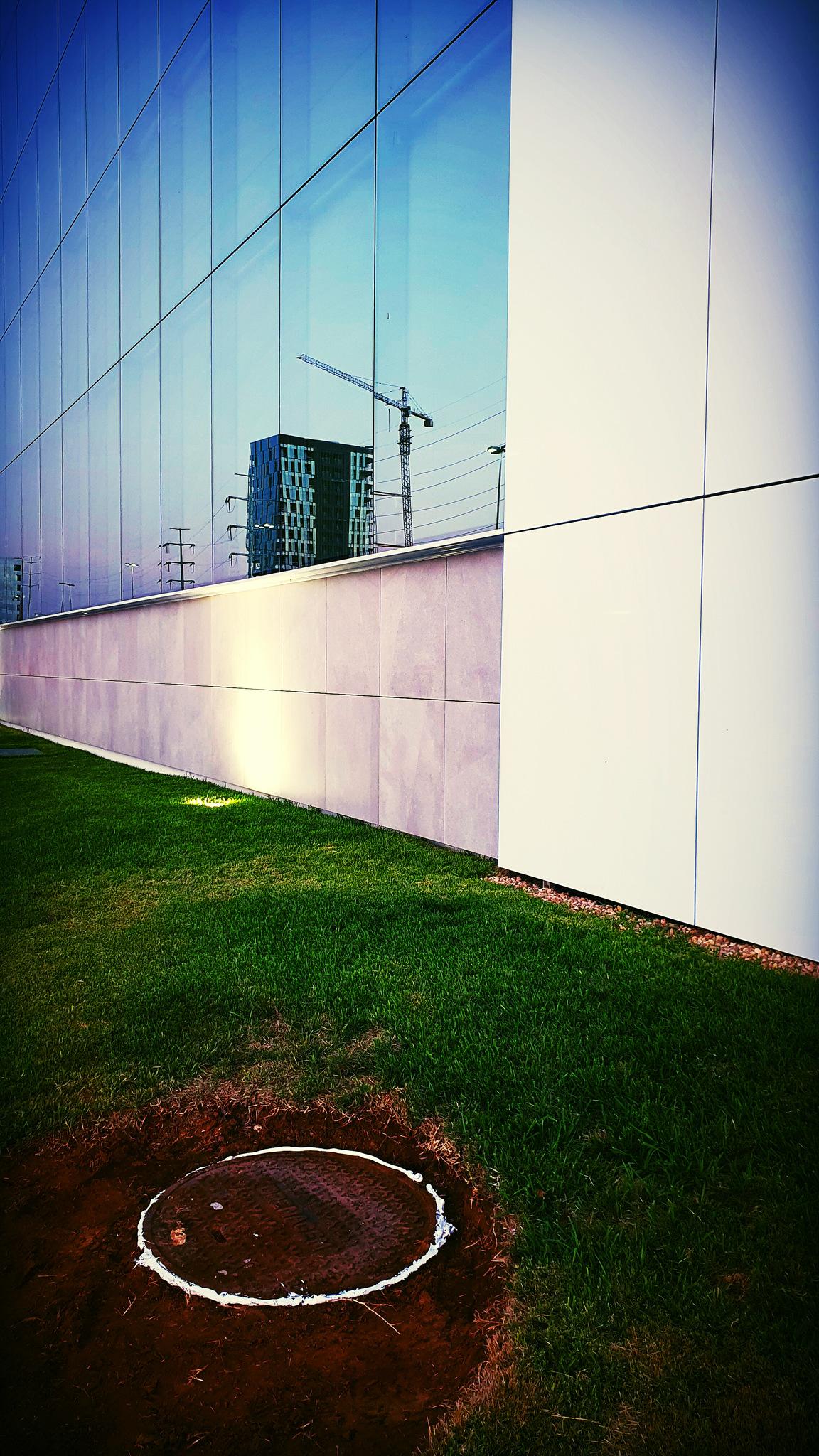 Photo in Architecture #reflect #gras #glass