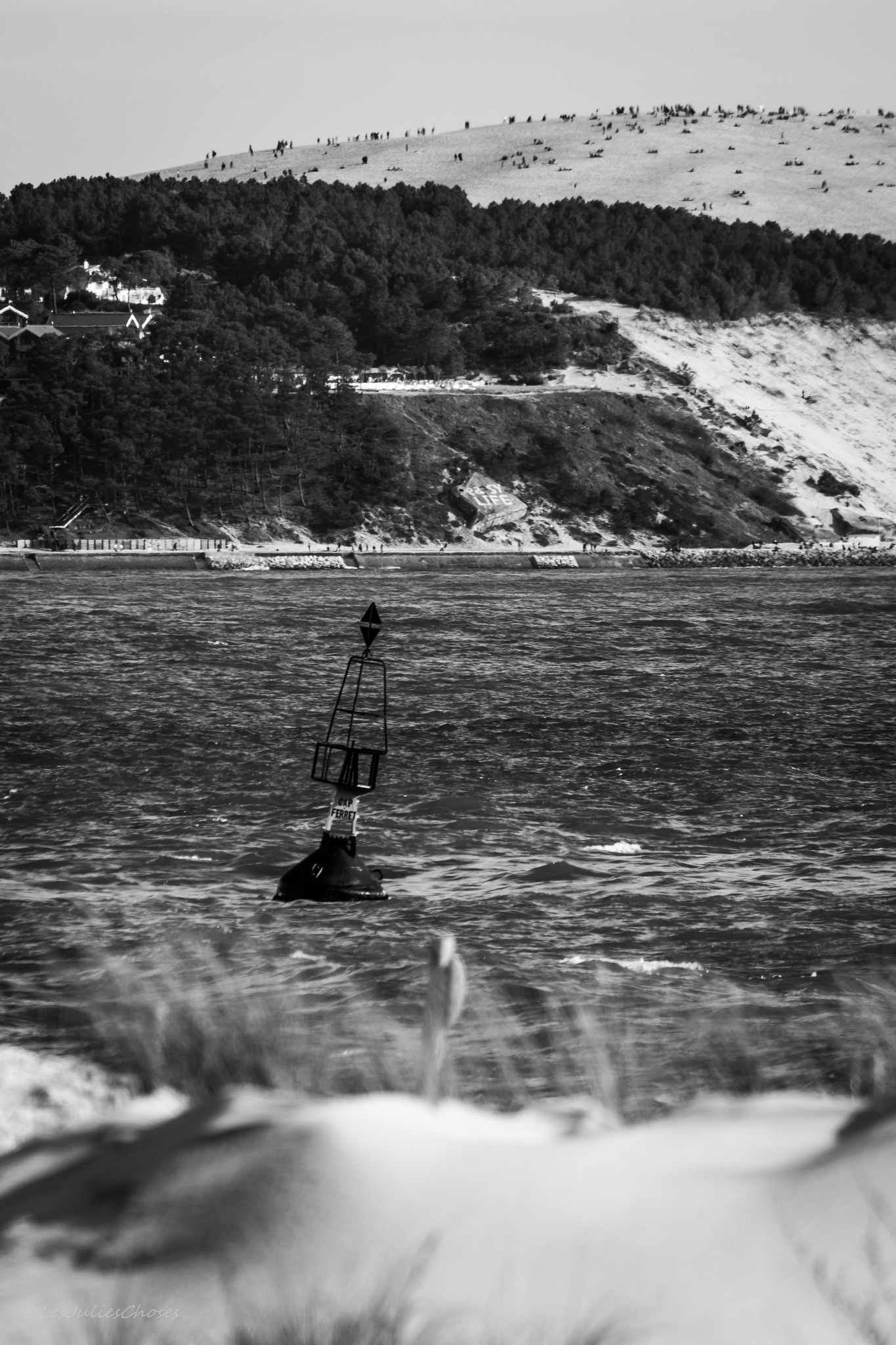 La pointe du Cap Ferret by Ju Ly