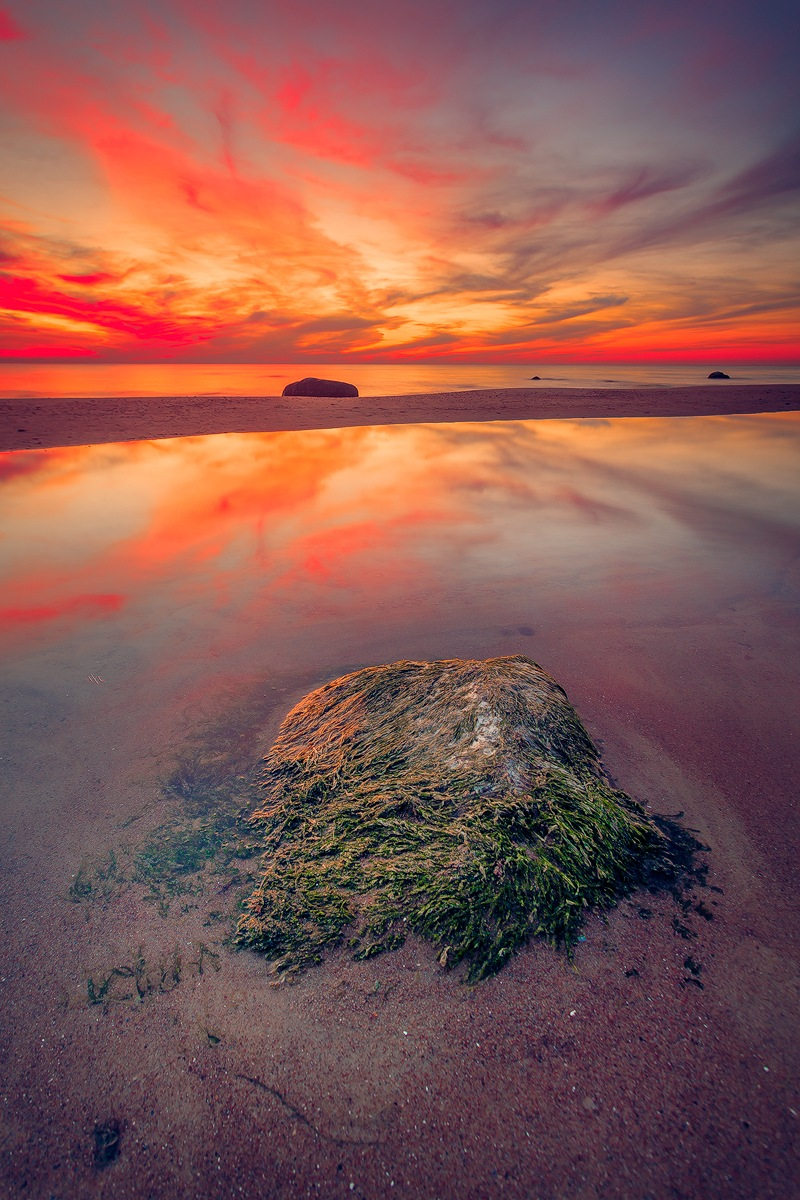 The Flaming Stone  by Ruslan  Bolgov (Axe Photography)