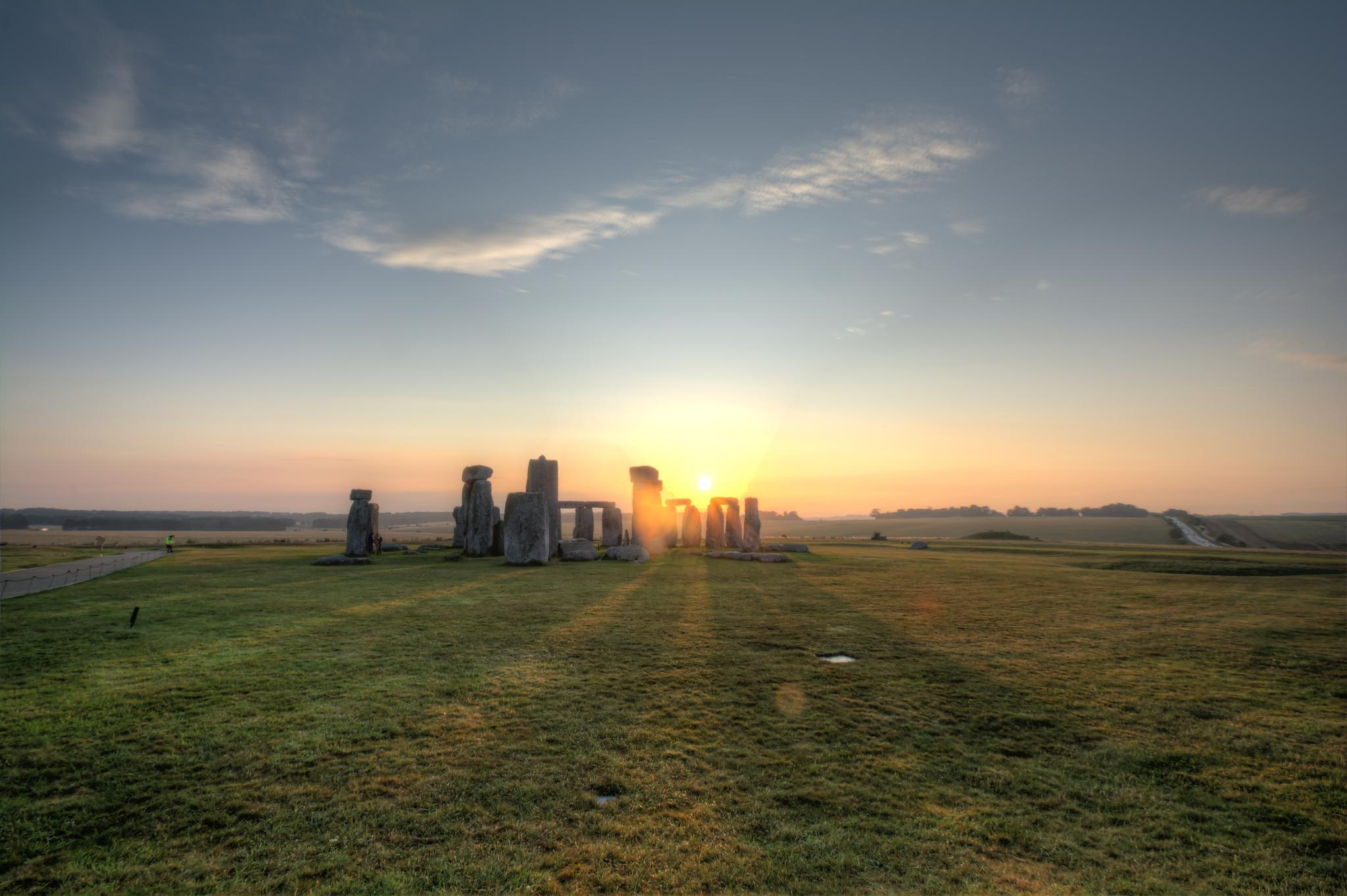 Stonehenge Dawn by John McNeilly