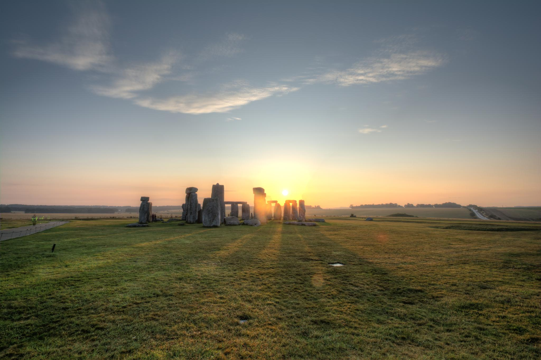 Stonehenge Dawn by John McNeilly