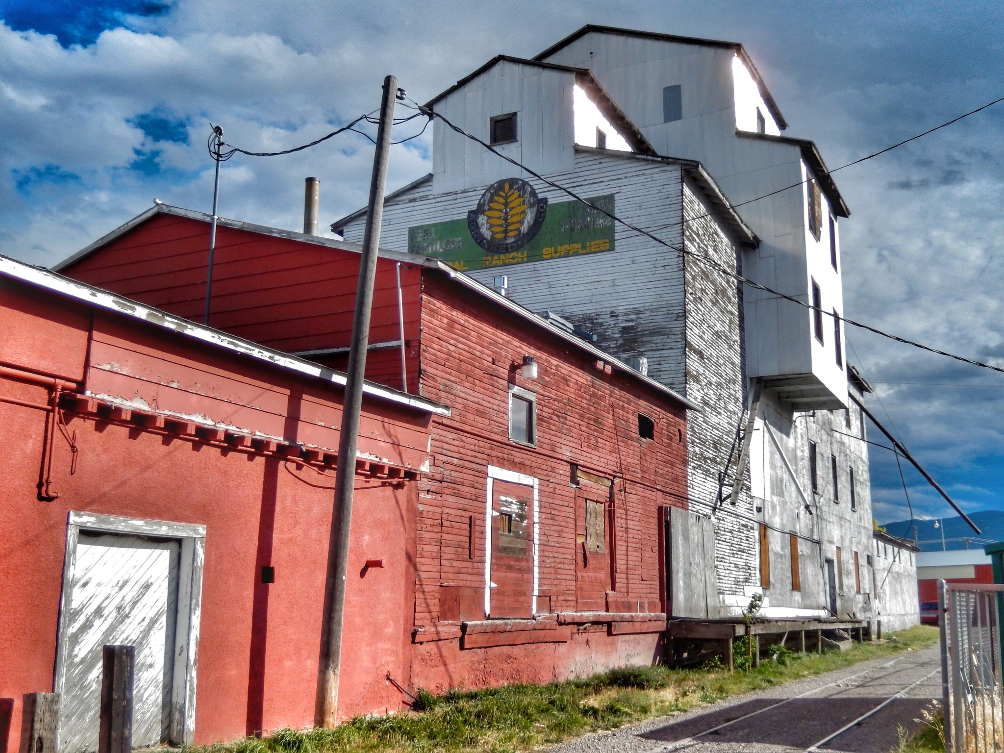 The old grain silo by Jackie06