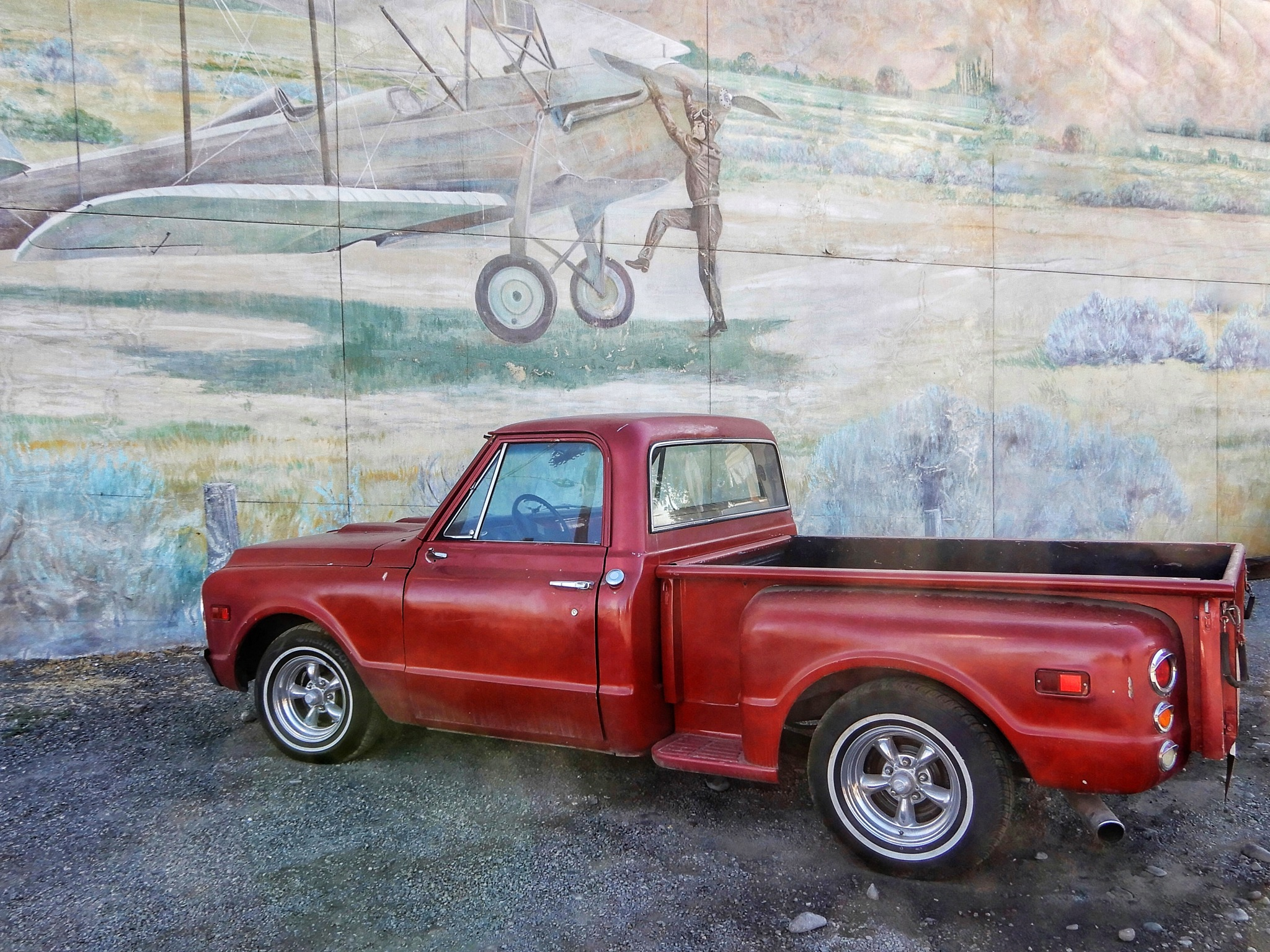 The red pickup truck  by Jackie06