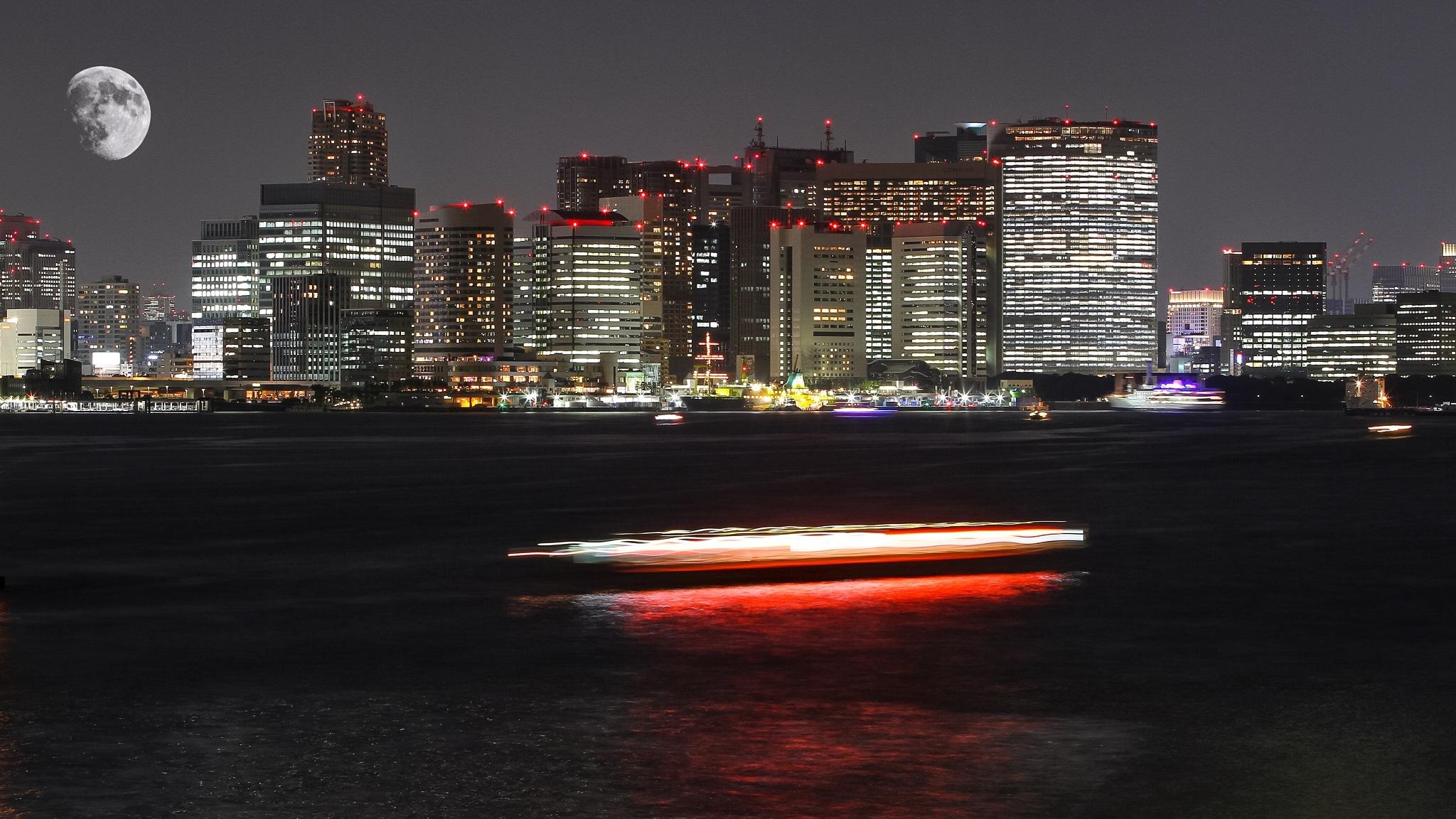 Tokyo at night by Jp Punzalan