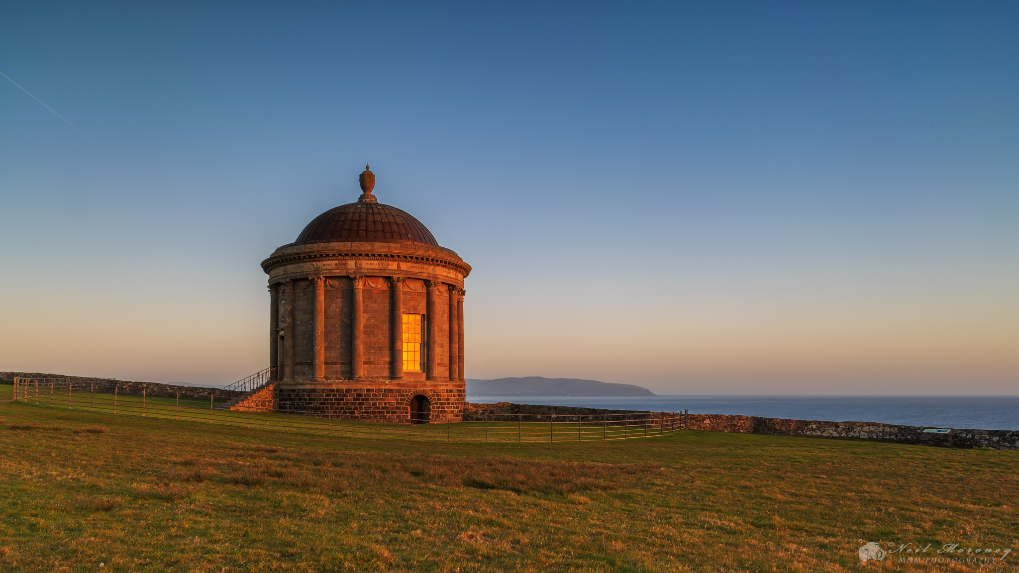 Sunrise at the Temple. by Neil Moroney