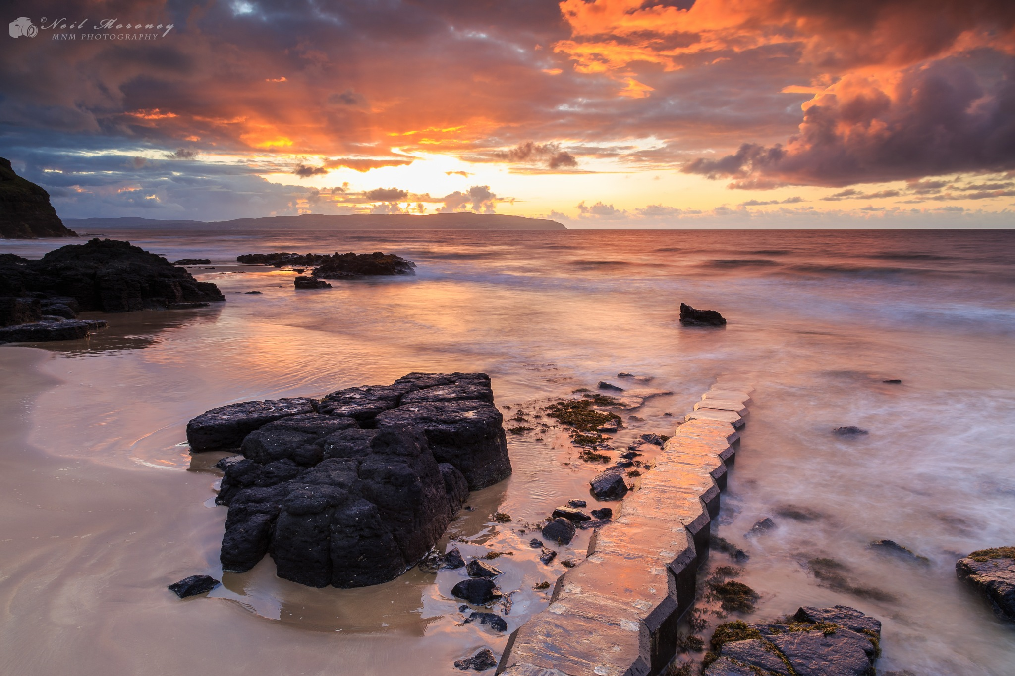 Castlerock Sunset by Neil Moroney