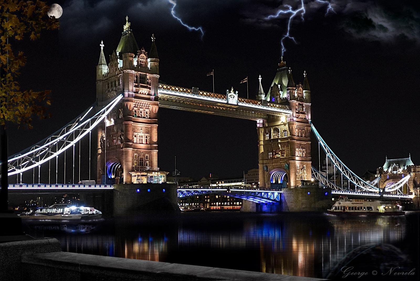 Tower Bridge - London by GeorgeNevrela