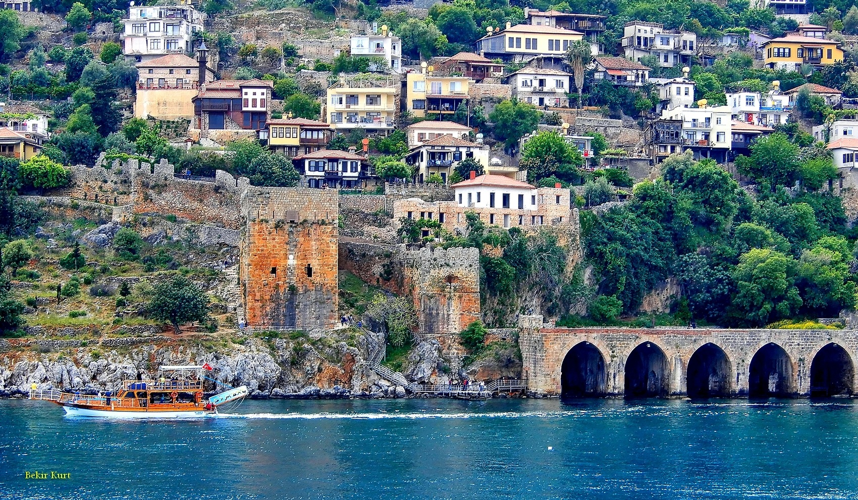 The Shipyard And Historical Houses, Alanya / Turkey by Bekir Kurt