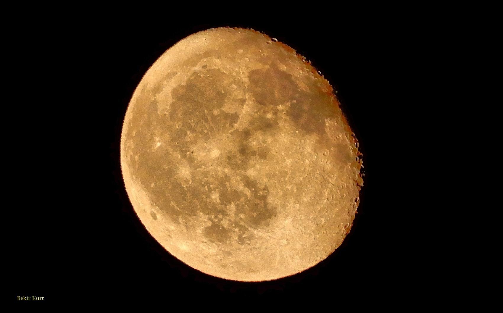 The Moon From Davultepe by Bekir Kurt