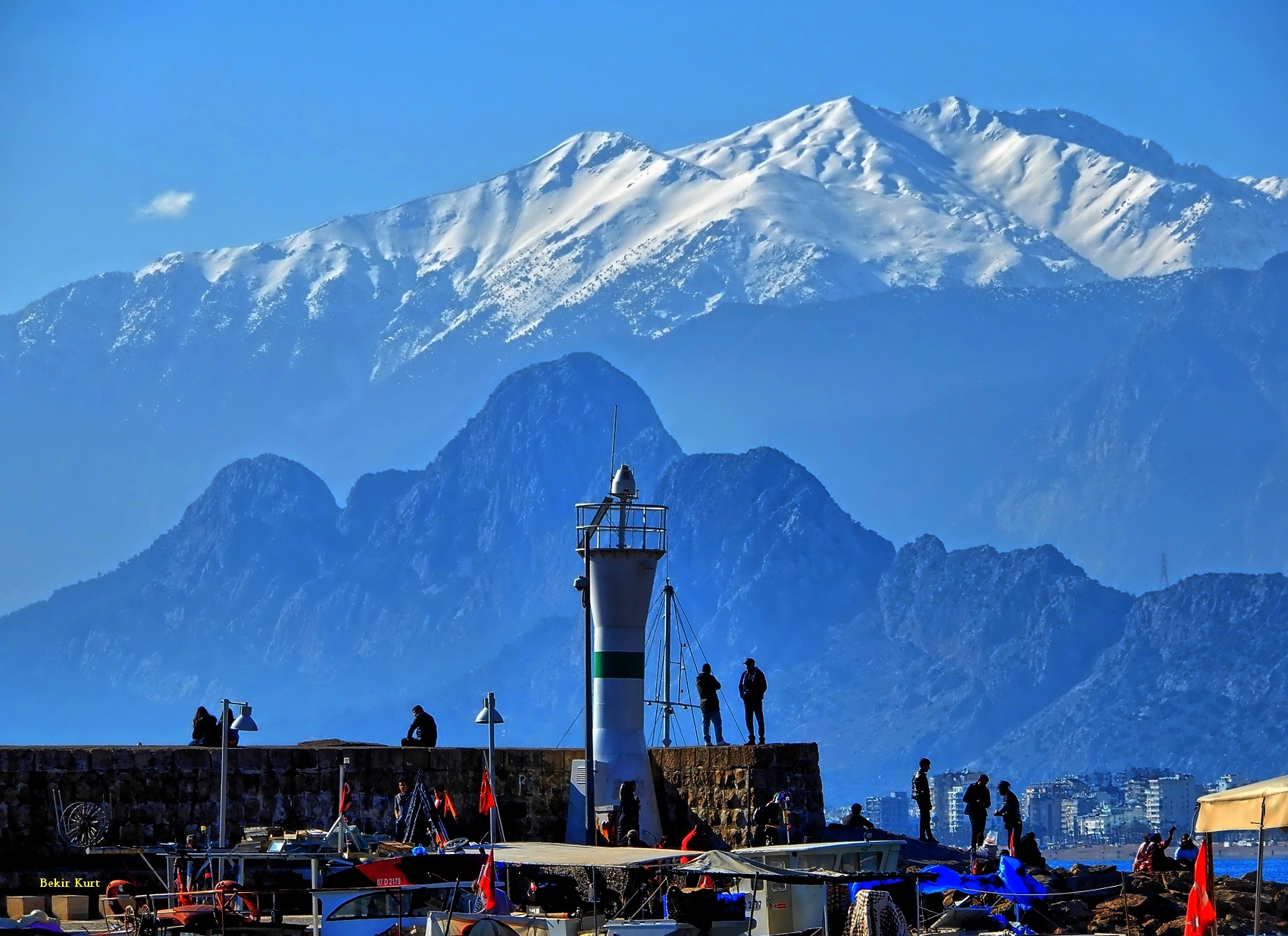 The View To Bey Mountains by Bekir Kurt