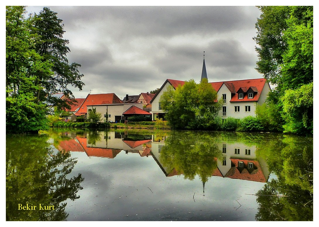 Reflections from Weissendorf / Germany by Bekir Kurt