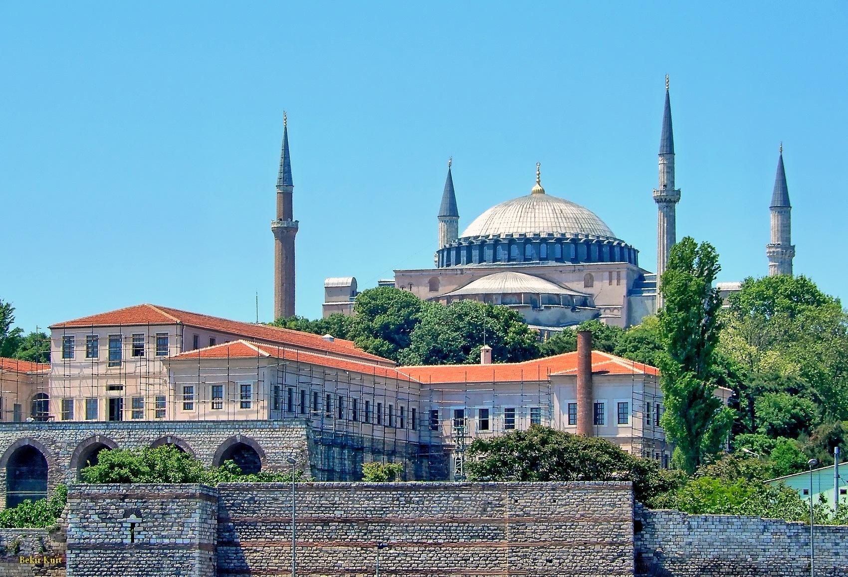 Hagia Sophia From Marmara Sea by Bekir Kurt