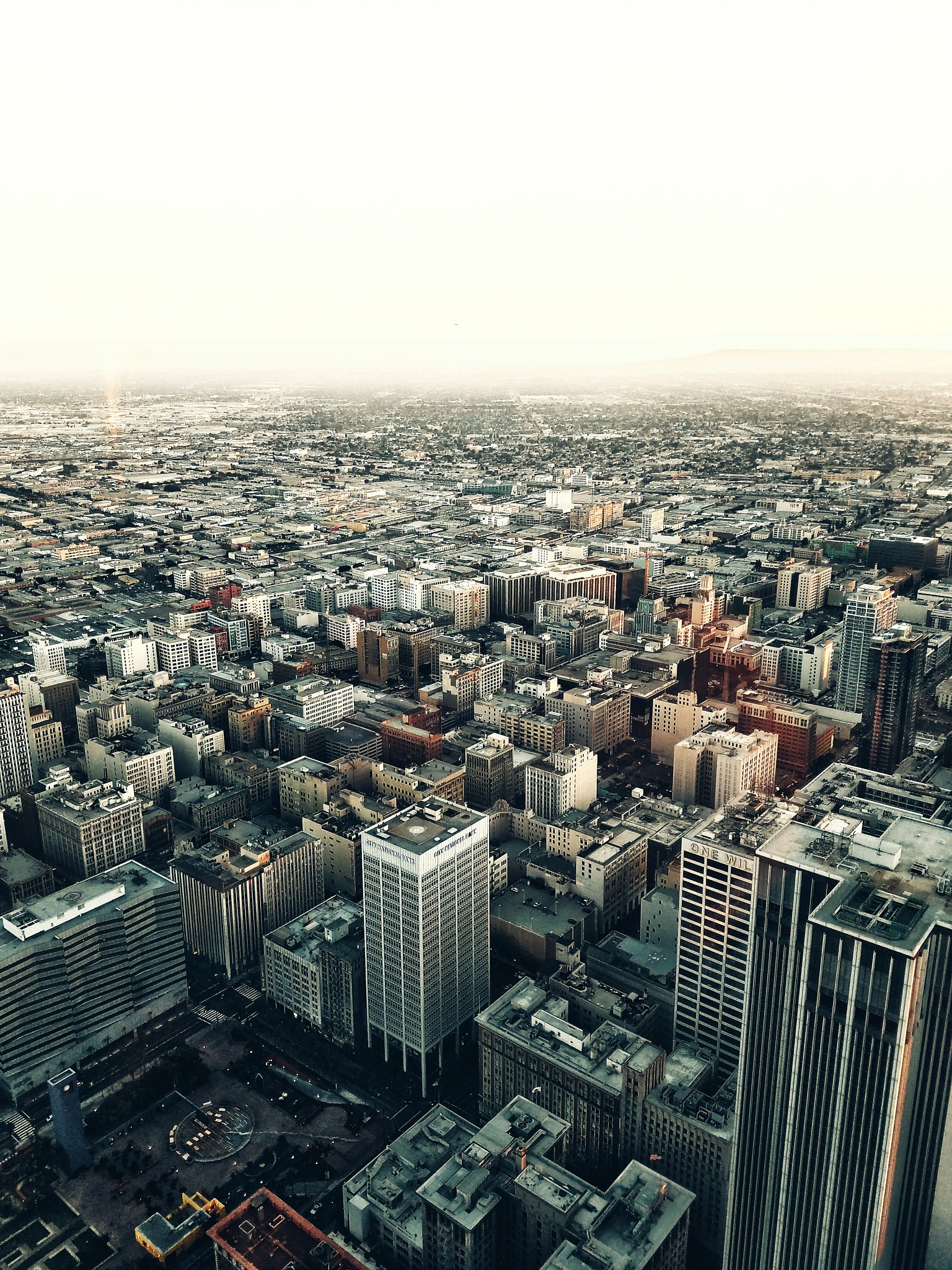 Downtown Los Angeles  by Gary Loitz