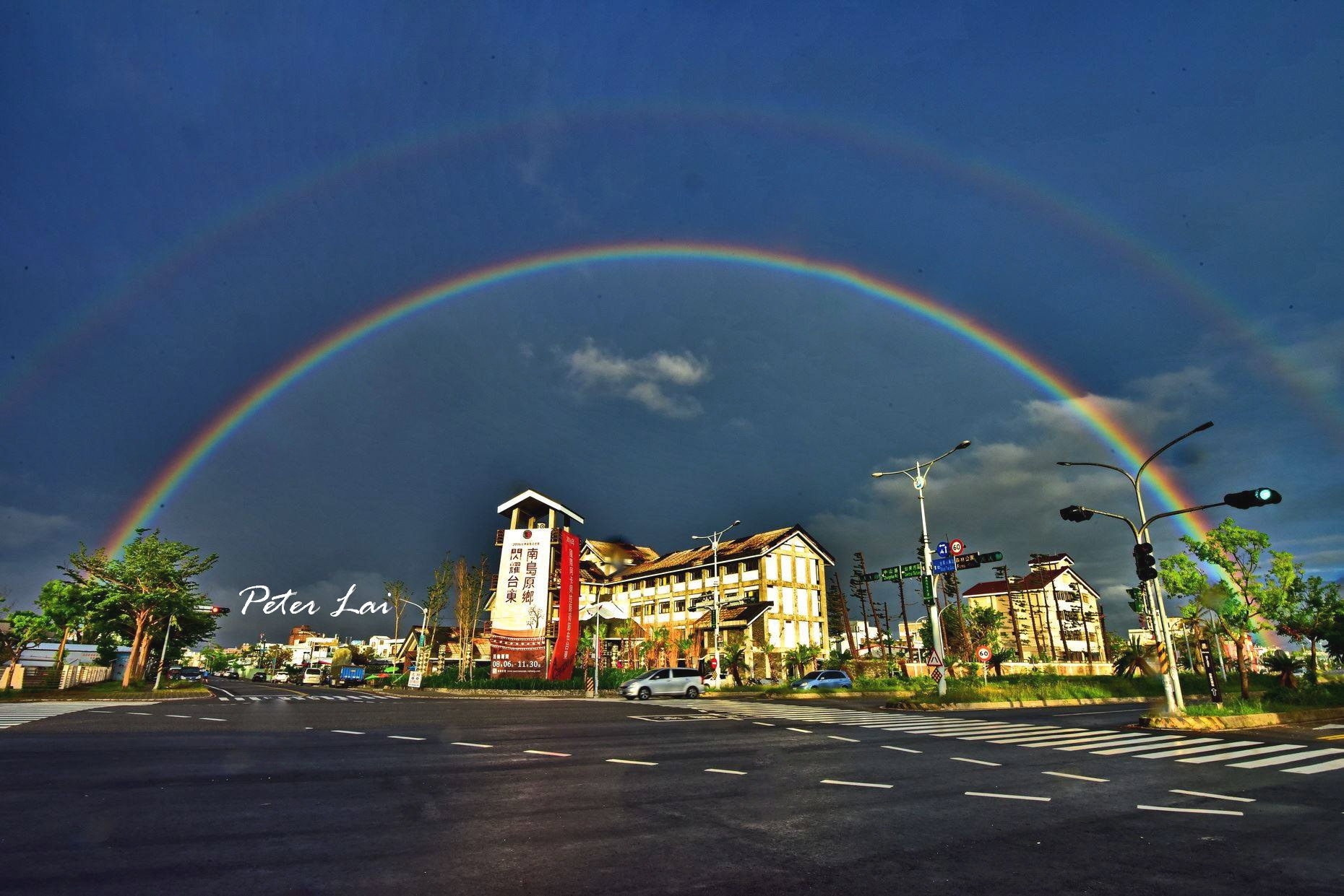 Double rainbow. by petertyghbn