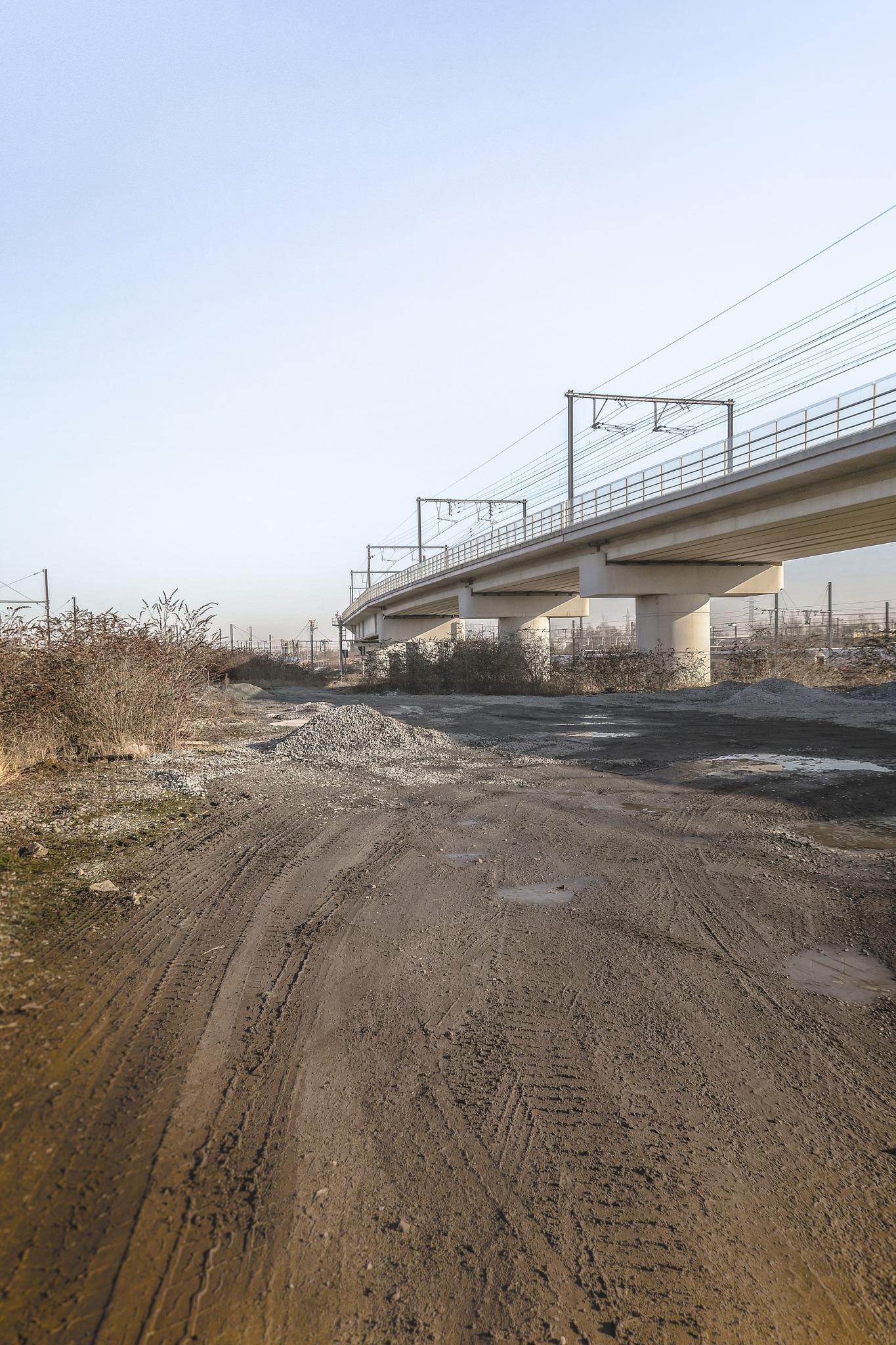 Under the bridge by Cedric Jover
