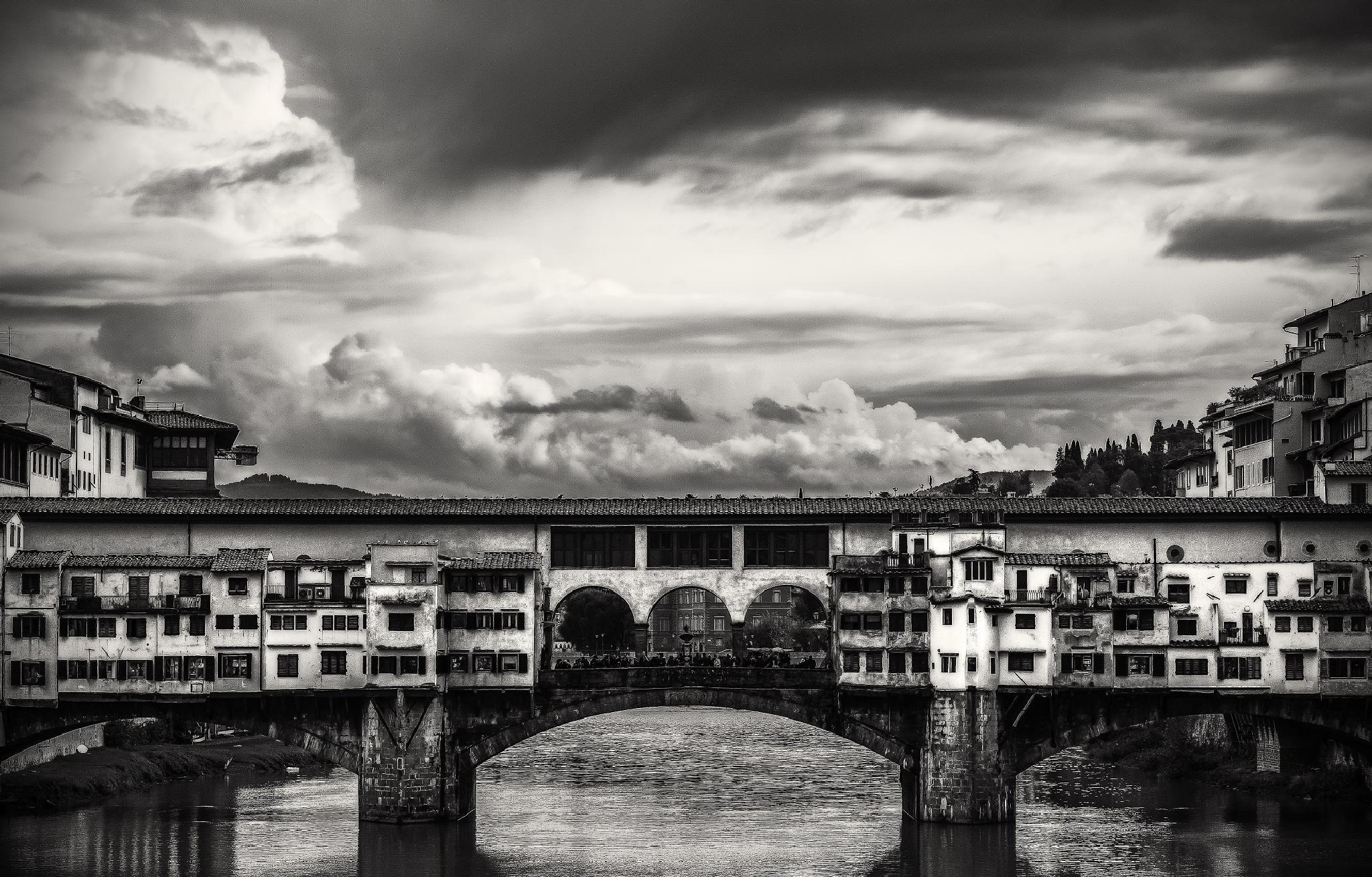 Ponte Vecchio by Egidio Distante