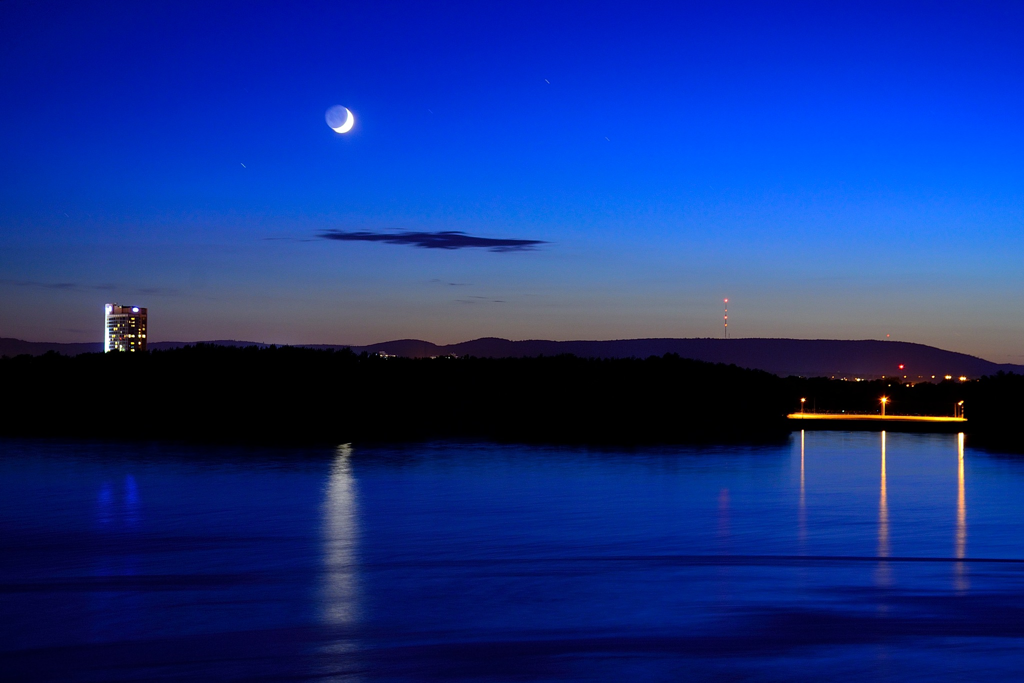 As the blue hour approach.   by tamasergy