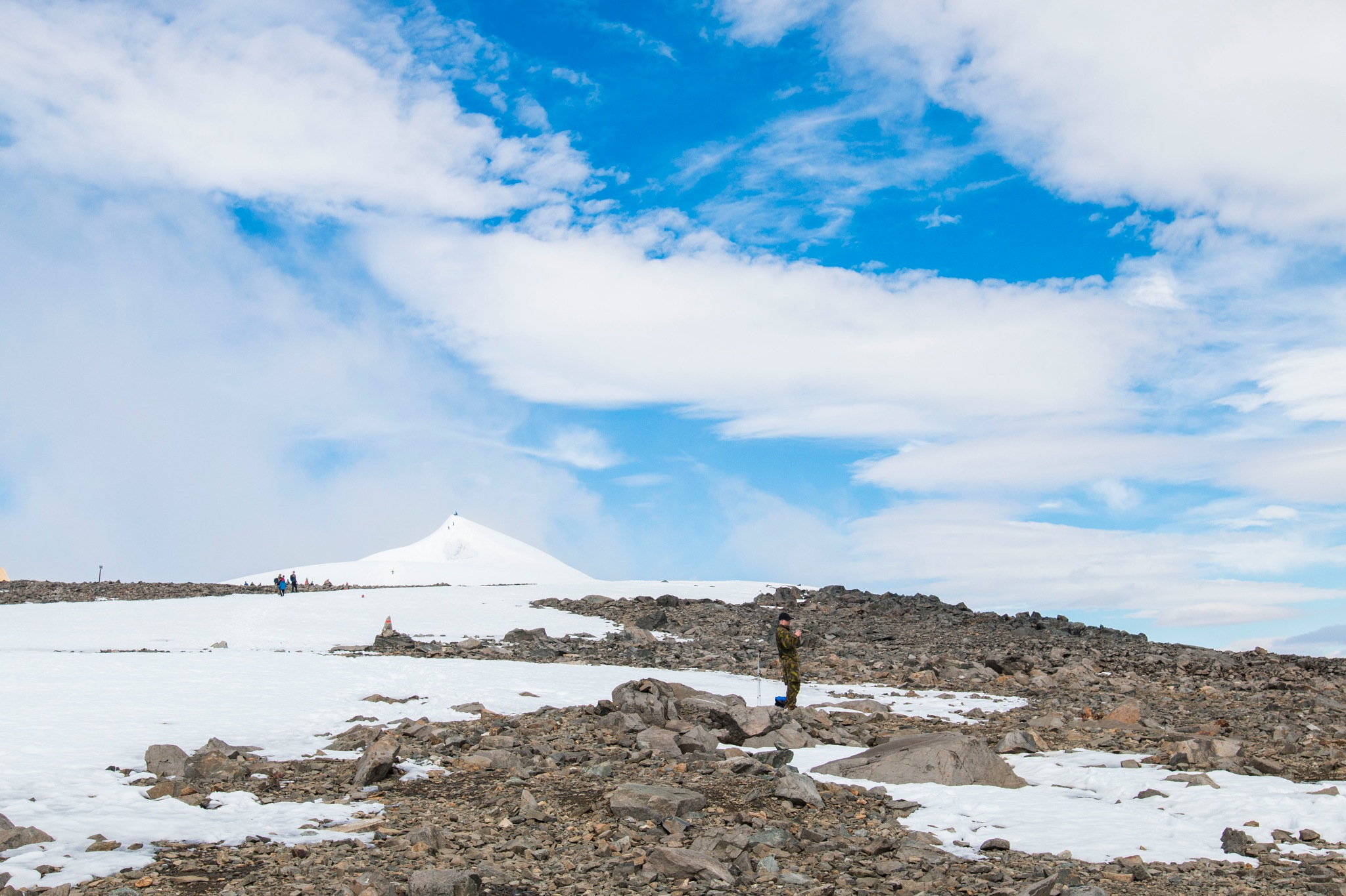Top of the highest mountain in Sweden by Fotochicknroll