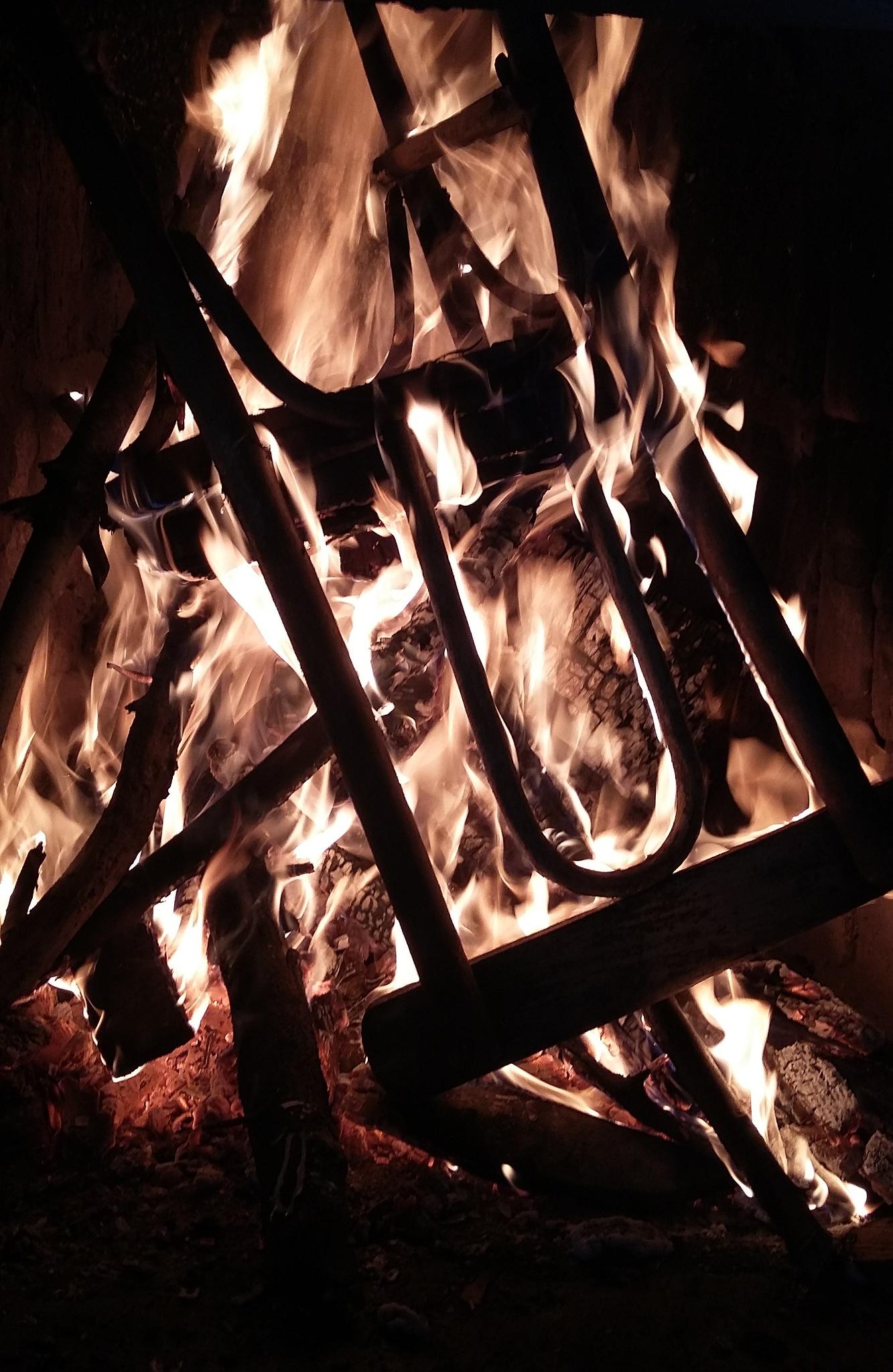 Chair/Fireplace by tsintsadze81