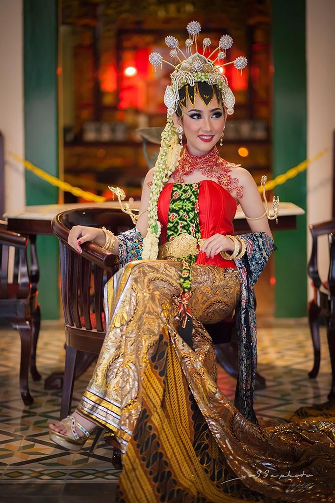 baju pengantin jawa moderen by yosserizal