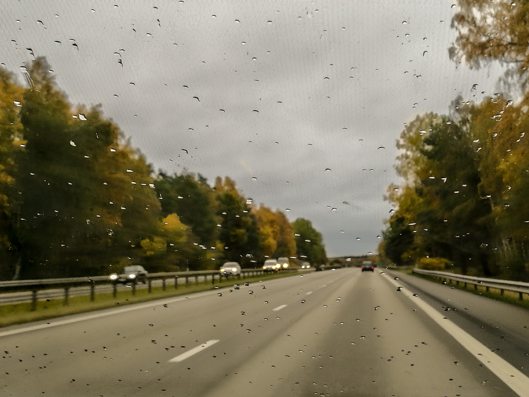 Rainy day in the car by AnnelieConca