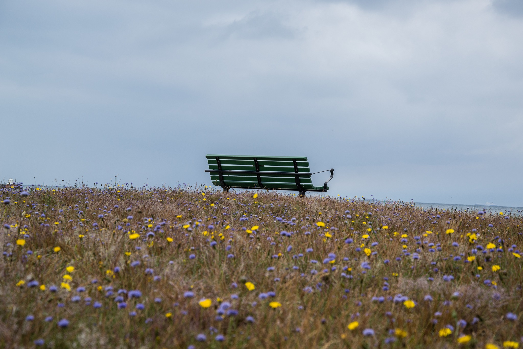 Bench by the sea by AnnelieConca