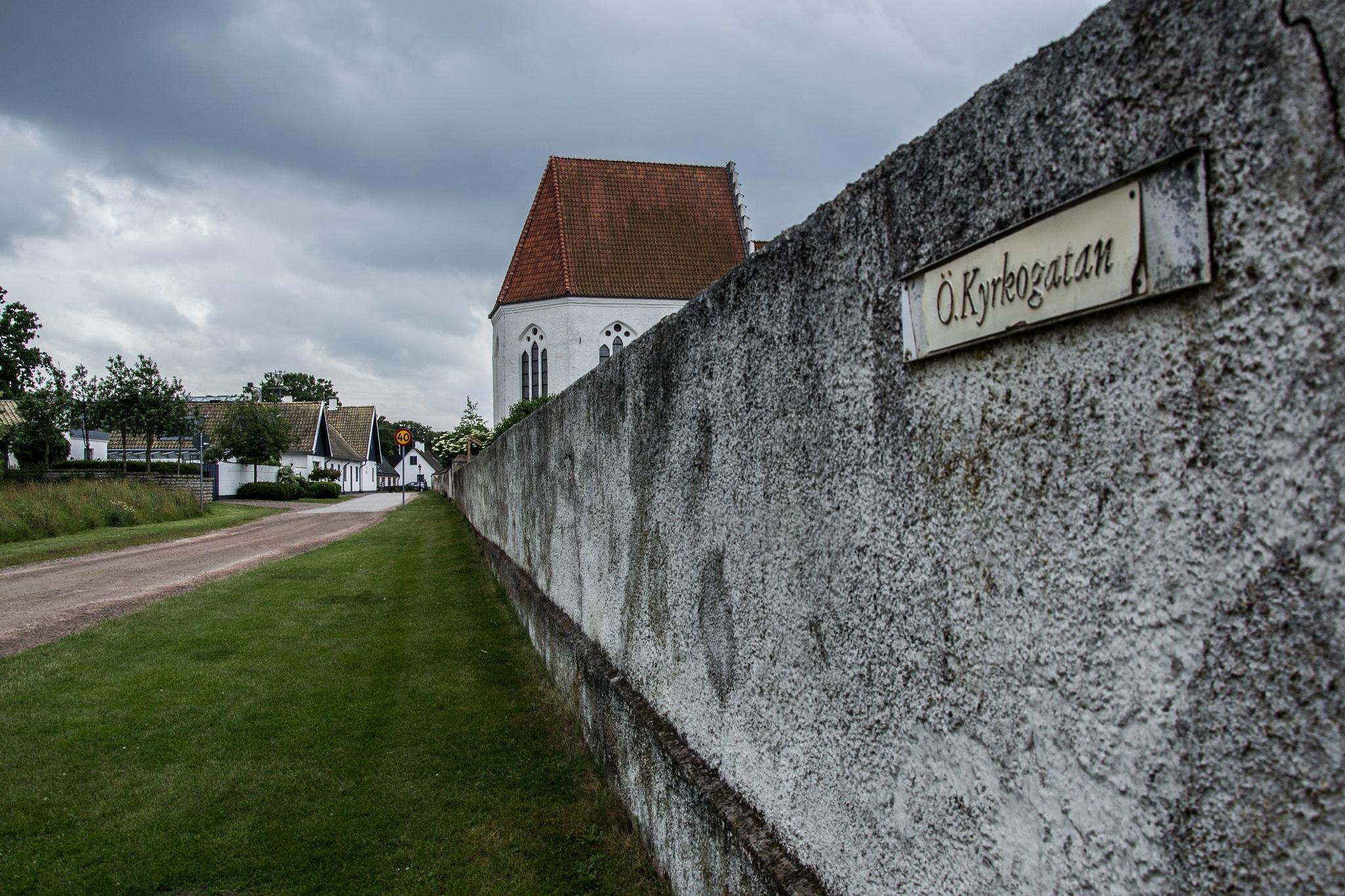 Church in Skanör by AnnelieConca