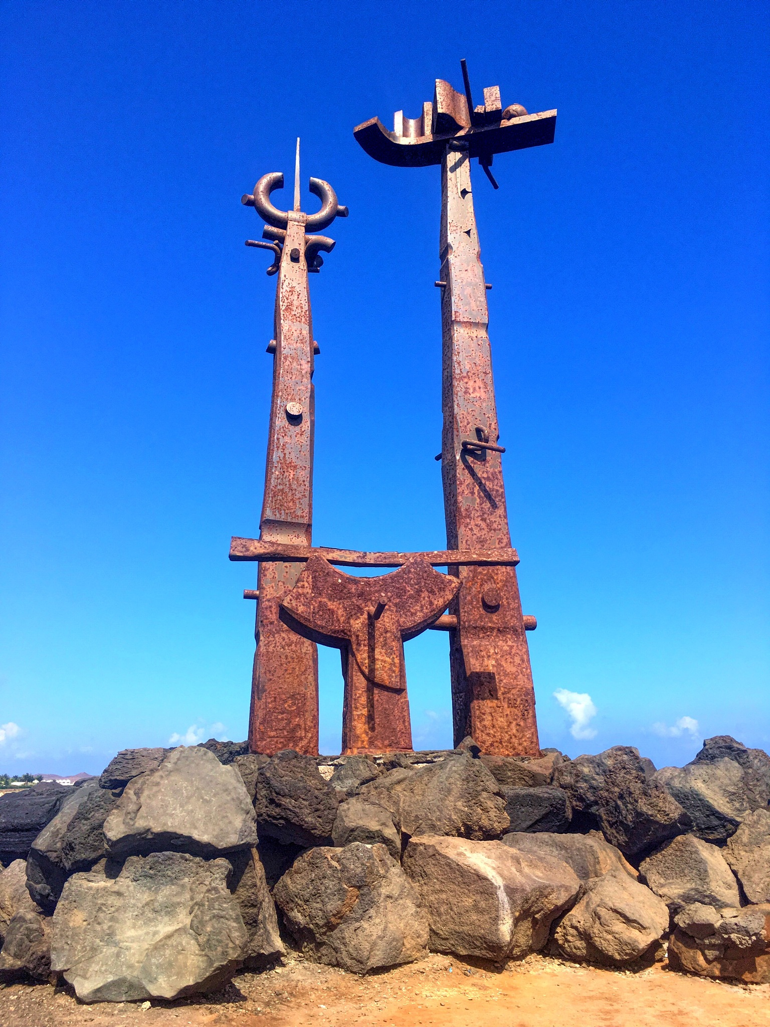 Costa Teguise Sculpture  by Patrick Curley