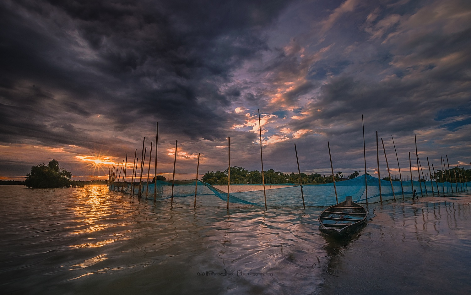 End of the day by Ripan Dam