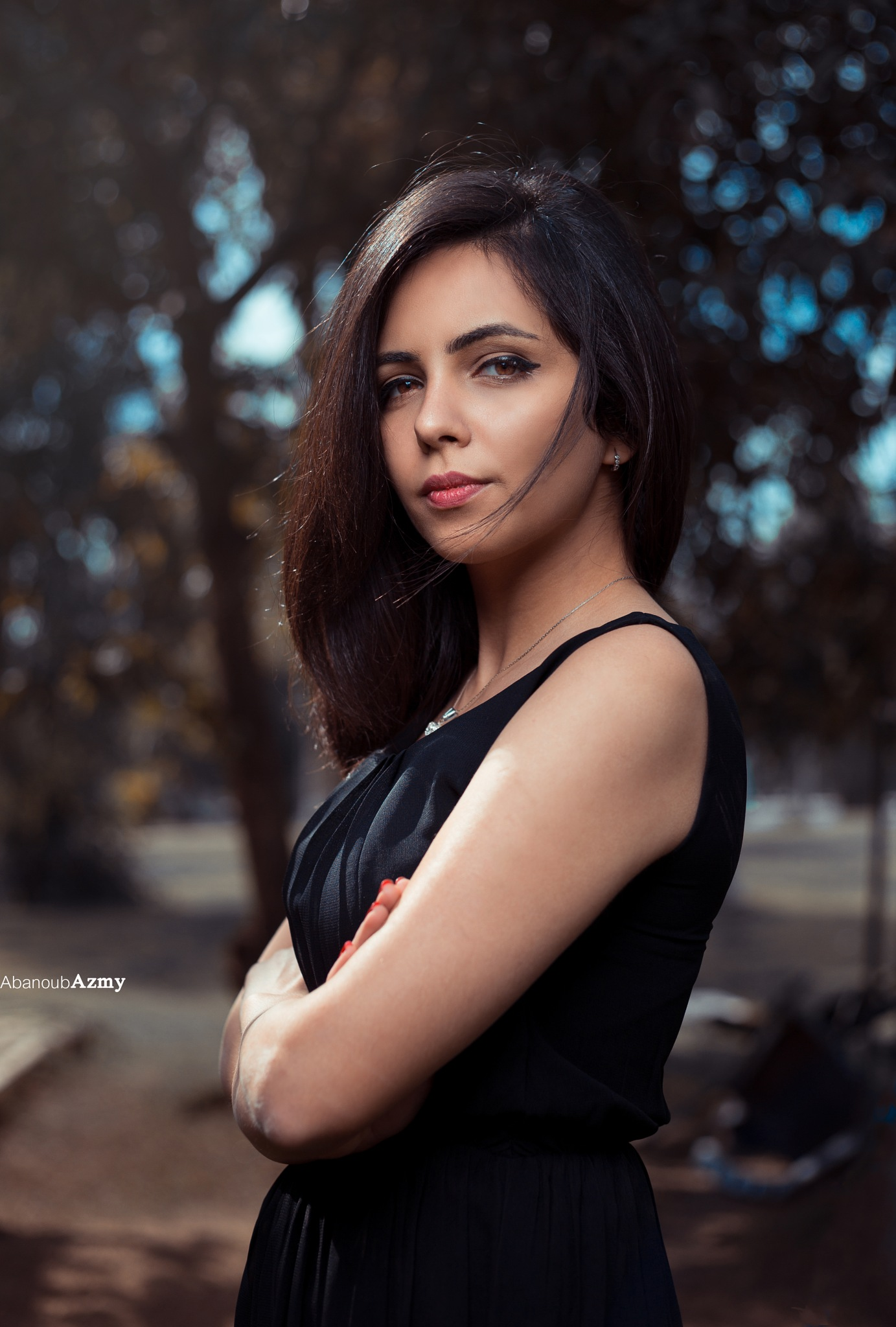 portrait at noon by Abanoub Azmy