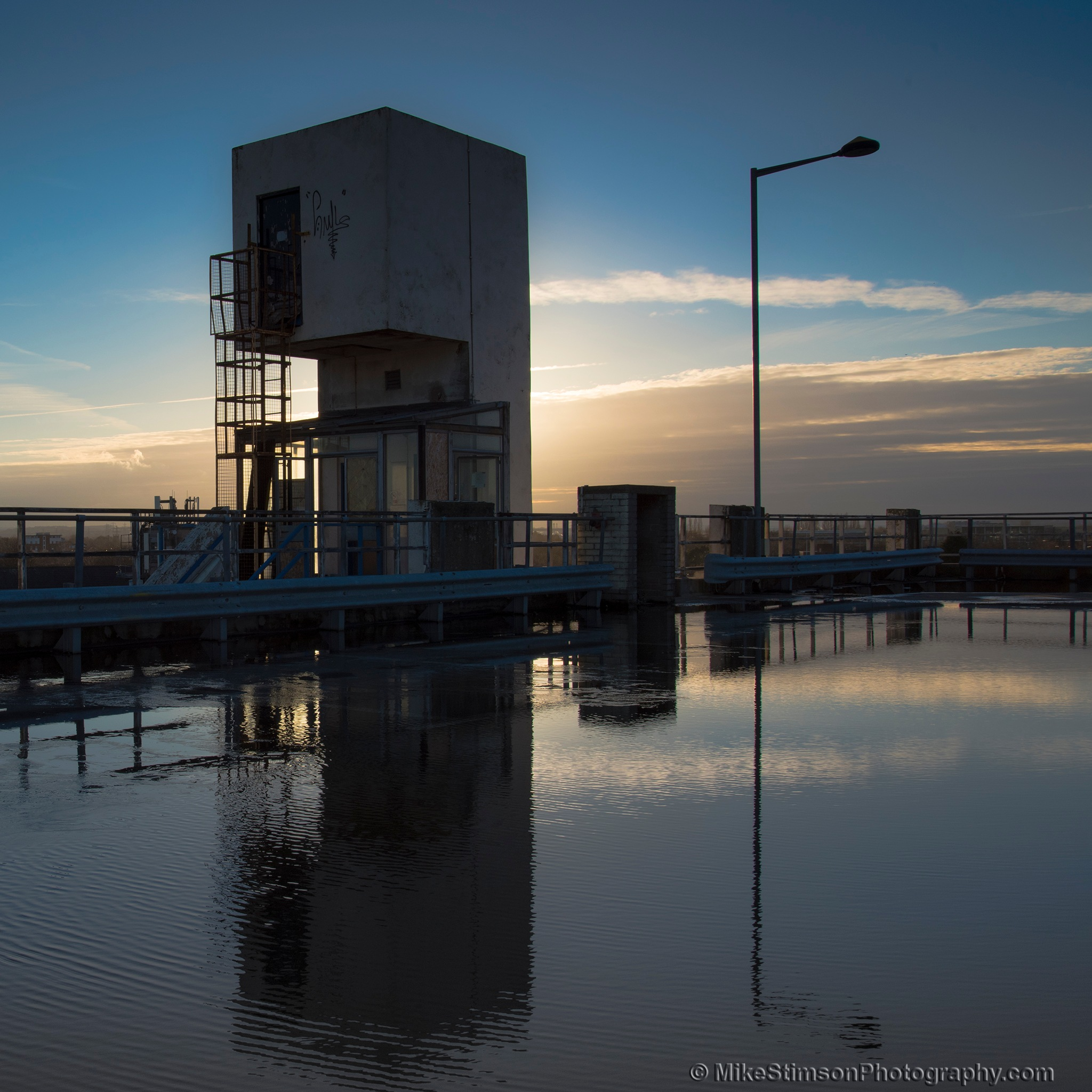 Concrete Tower 2 by Mike Stimson