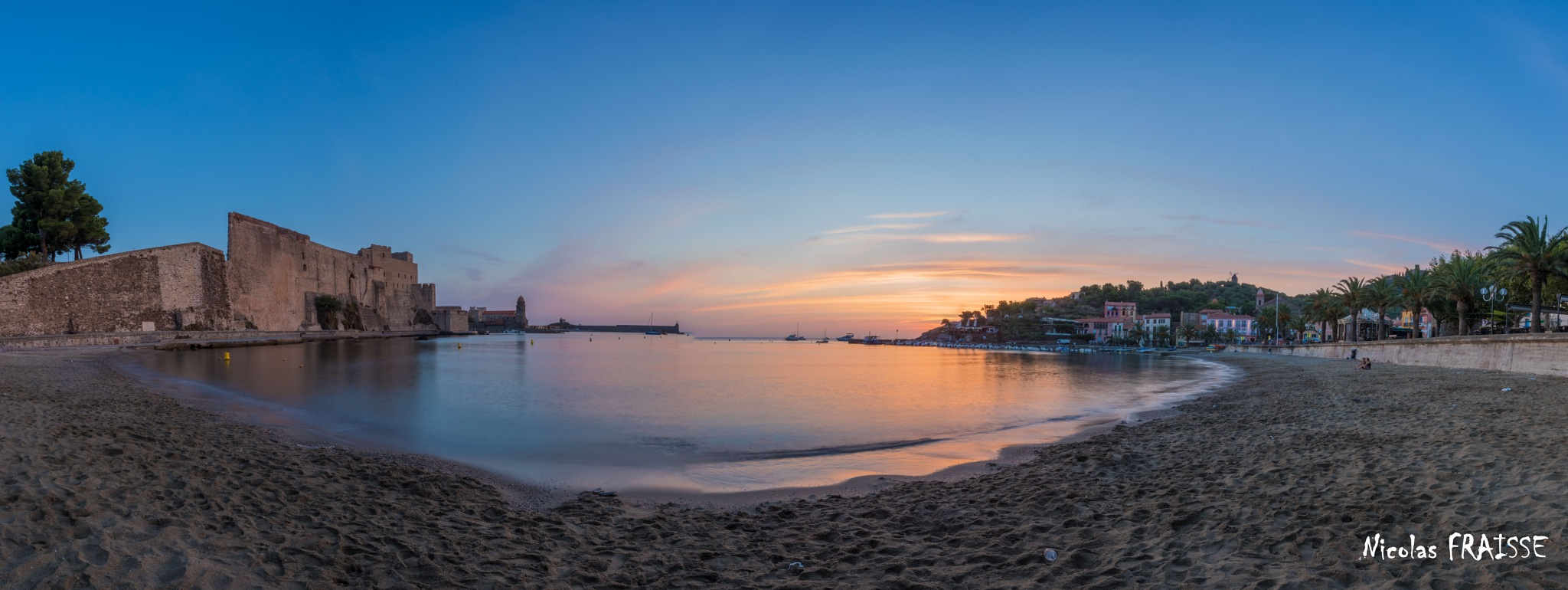Sunrise in Collioure, Pays Catalan by Nicolas F.