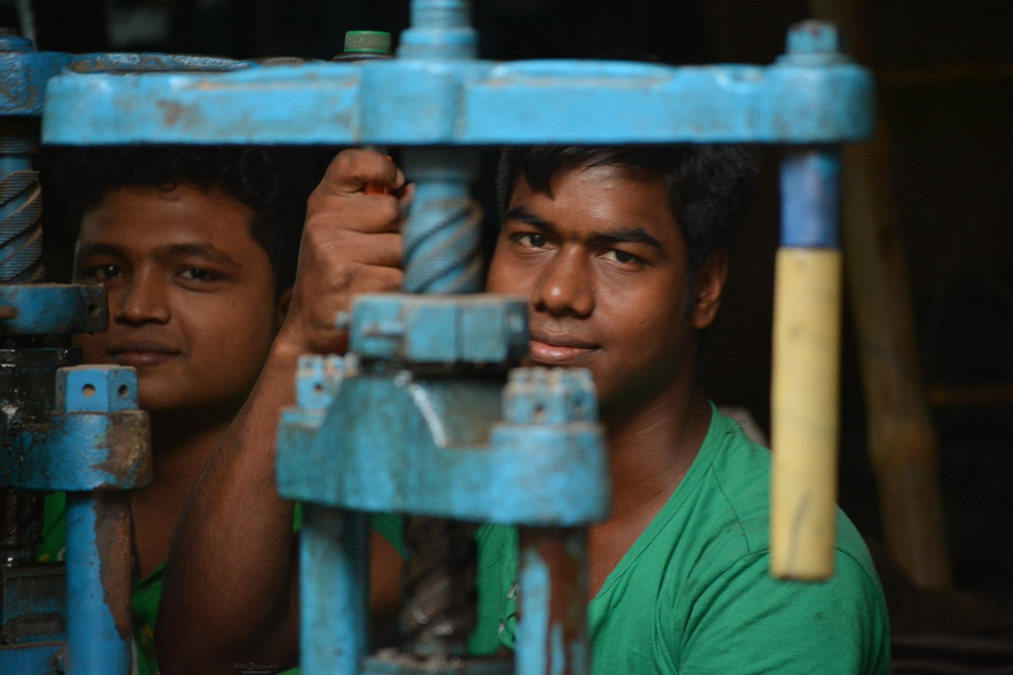 Two worker  by MD Kamrul Islam