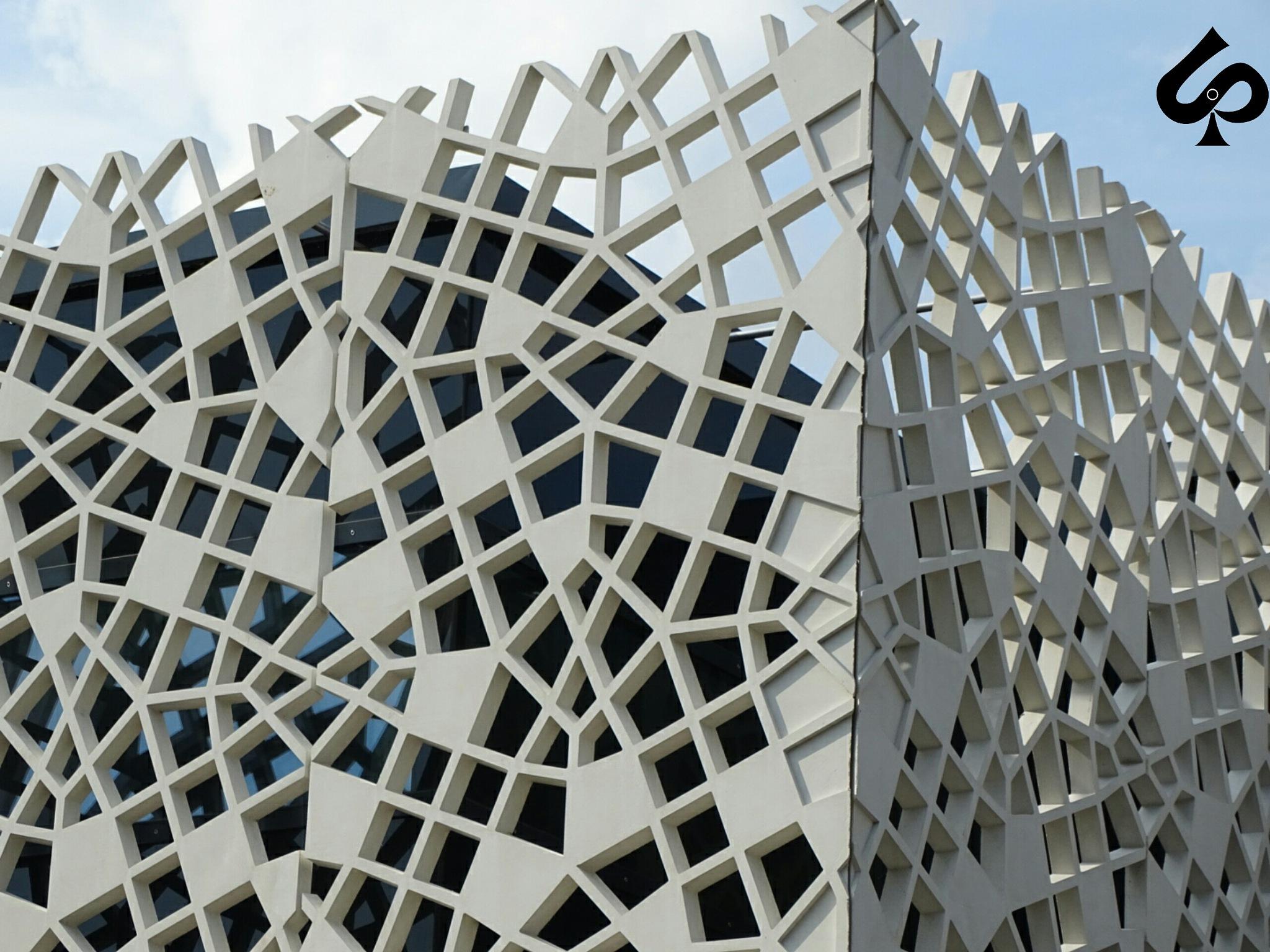 Modern building  by Isa Bel