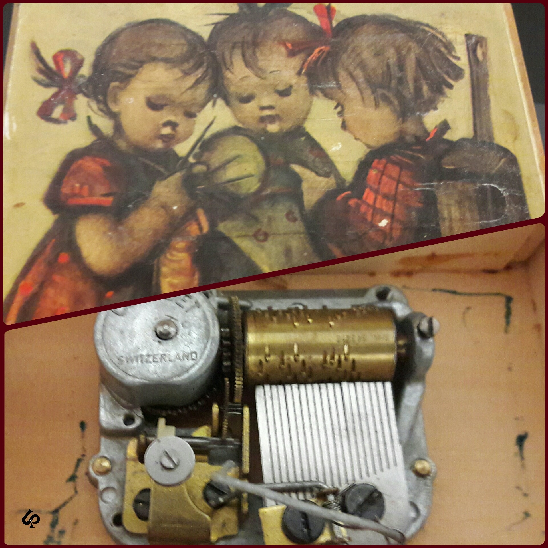old music box by Isa Bel