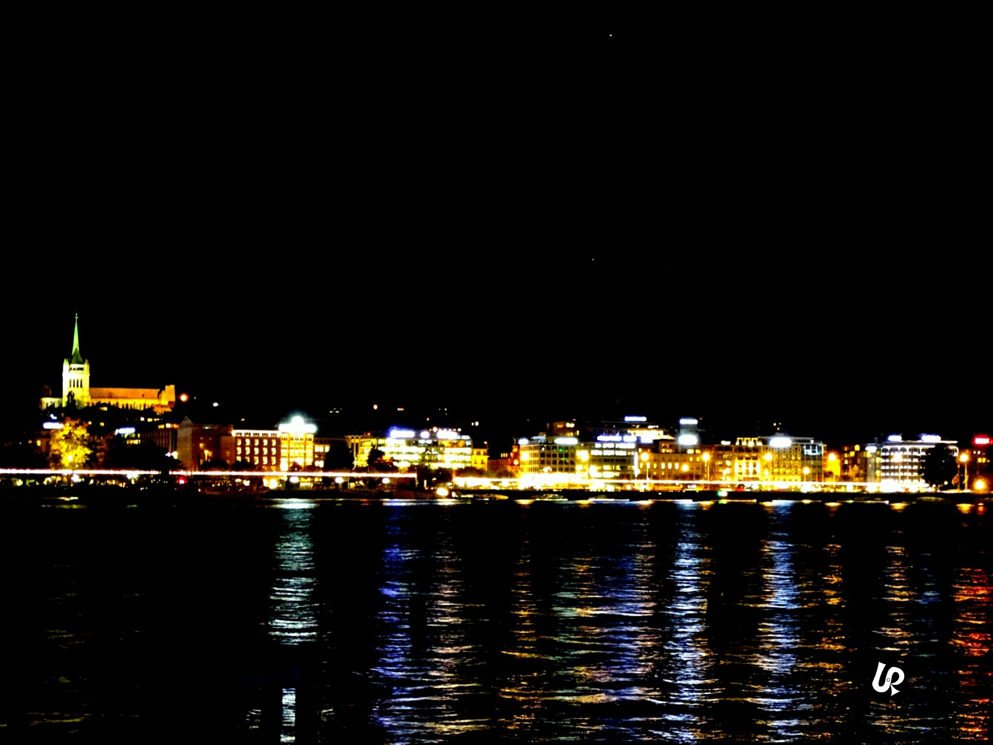 One night in Geneva  by Isa Bel